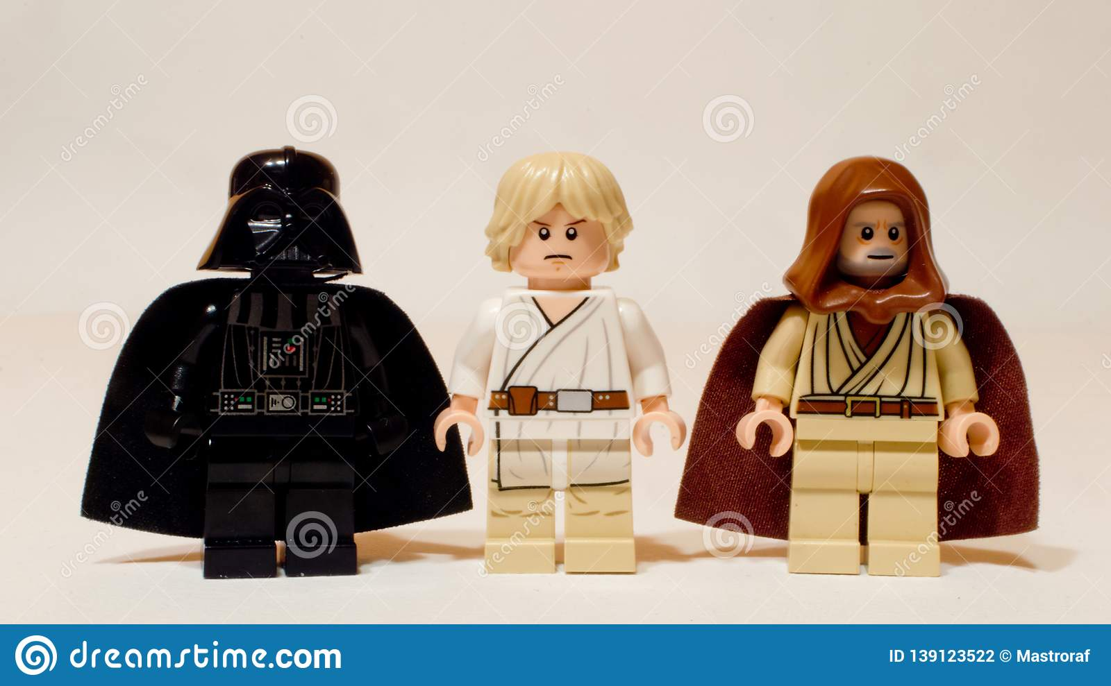 Lego Star Wars Minifigures Editorial Photography Image Of Leia