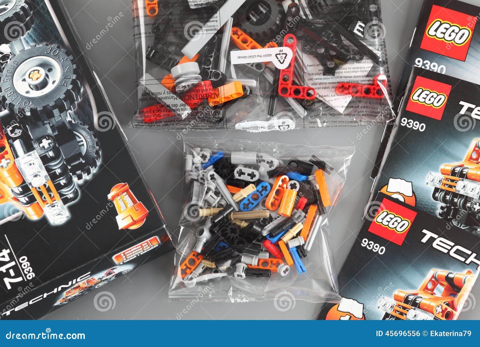Lego Technic Satz Redaktionelles Foto Bild Von Niemand