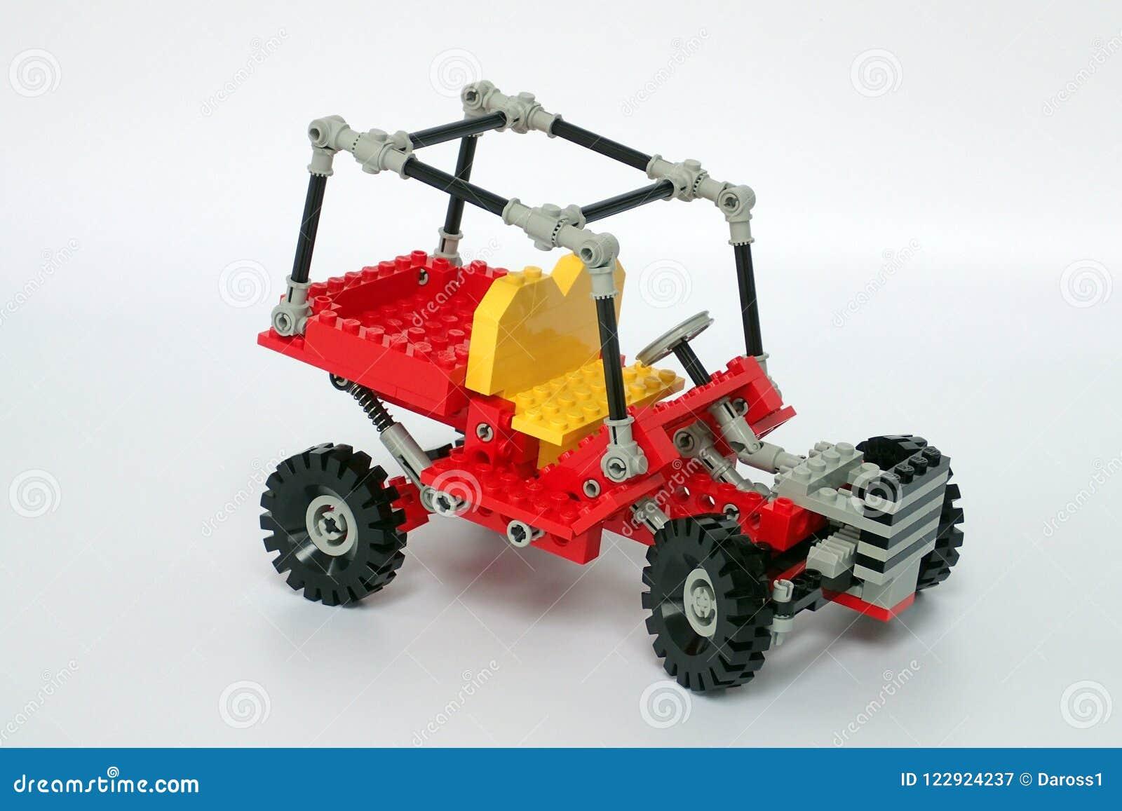 Lego Technic Set No 8845, Dune Buggy Editorial Photography