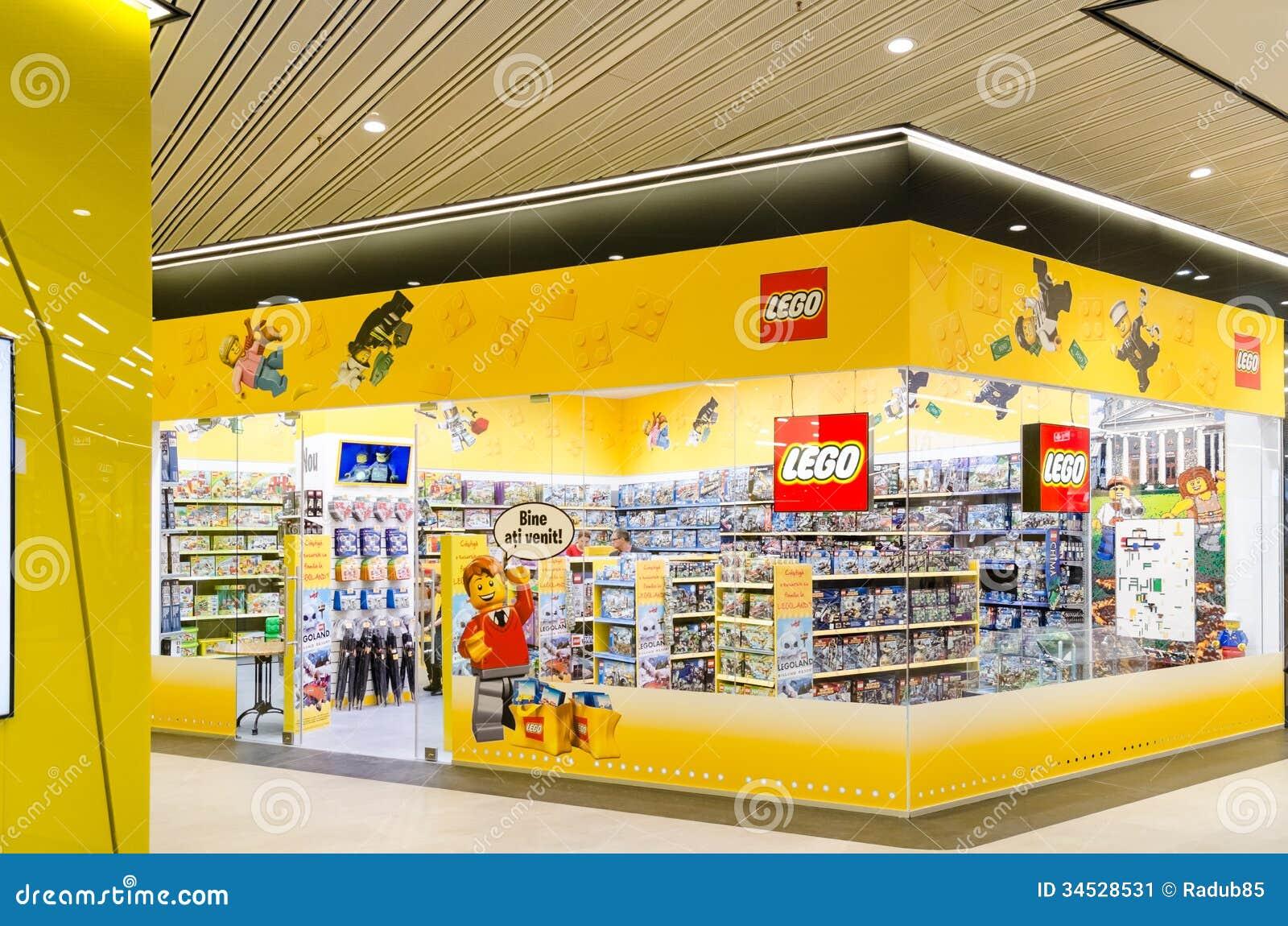 Lego Zabawek Sklep Zdjęcie Editorial Obraz Złożonej Z Linia 34528531