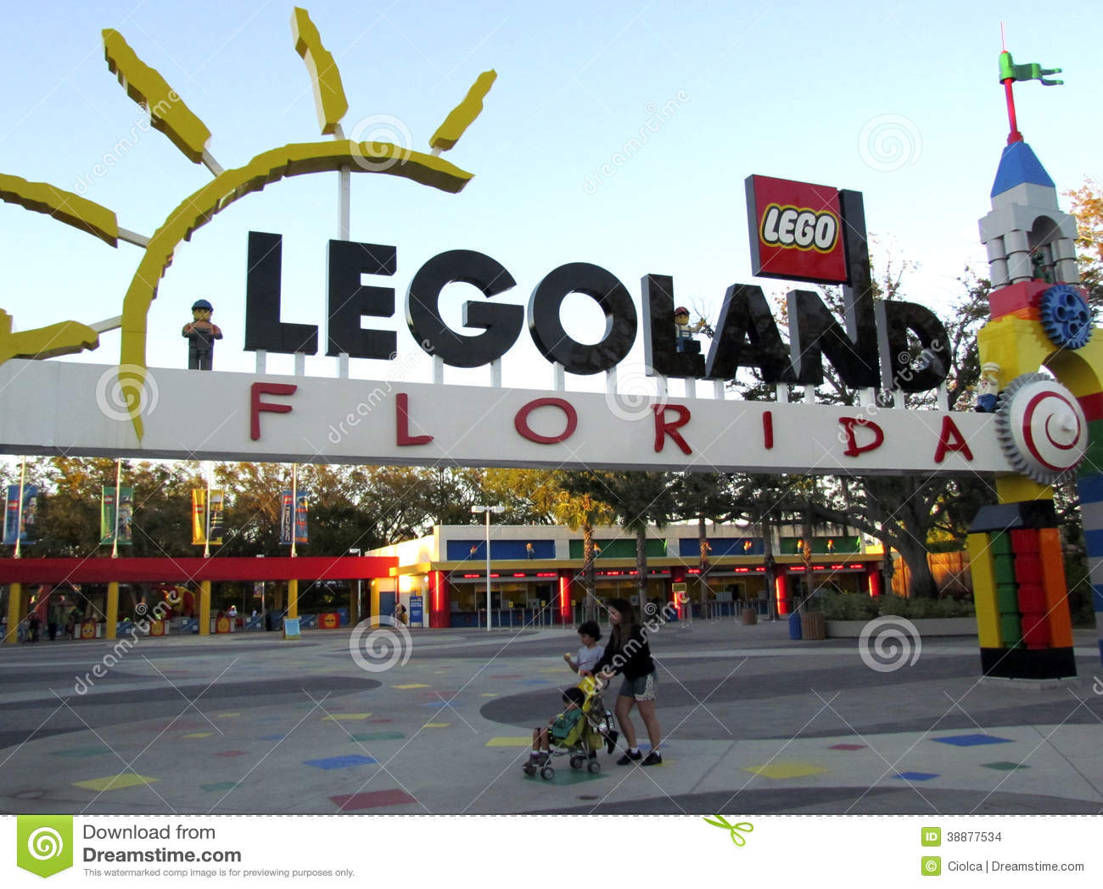legoland florida editorial stock image image of haven 36181759