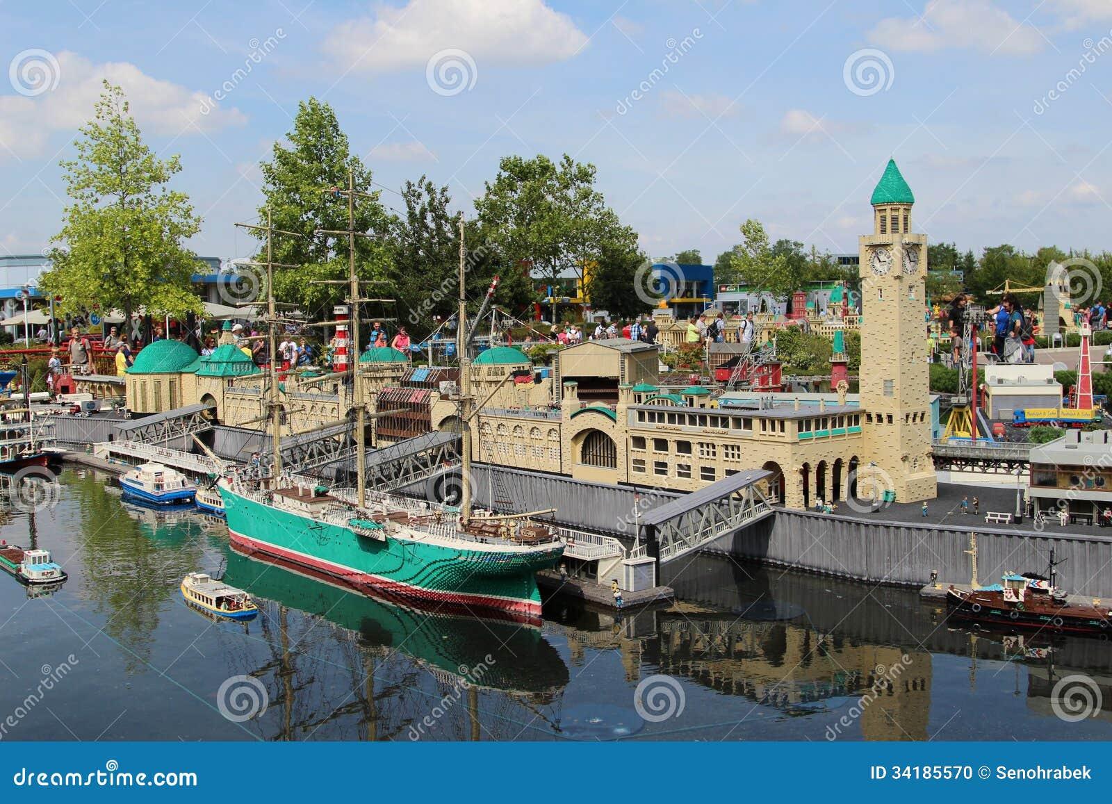 Gunzburg Germany  city pictures gallery : GUNZBURG, GERMANY AUGUST 22: Miniland at Legoland Deutschland Resort ...