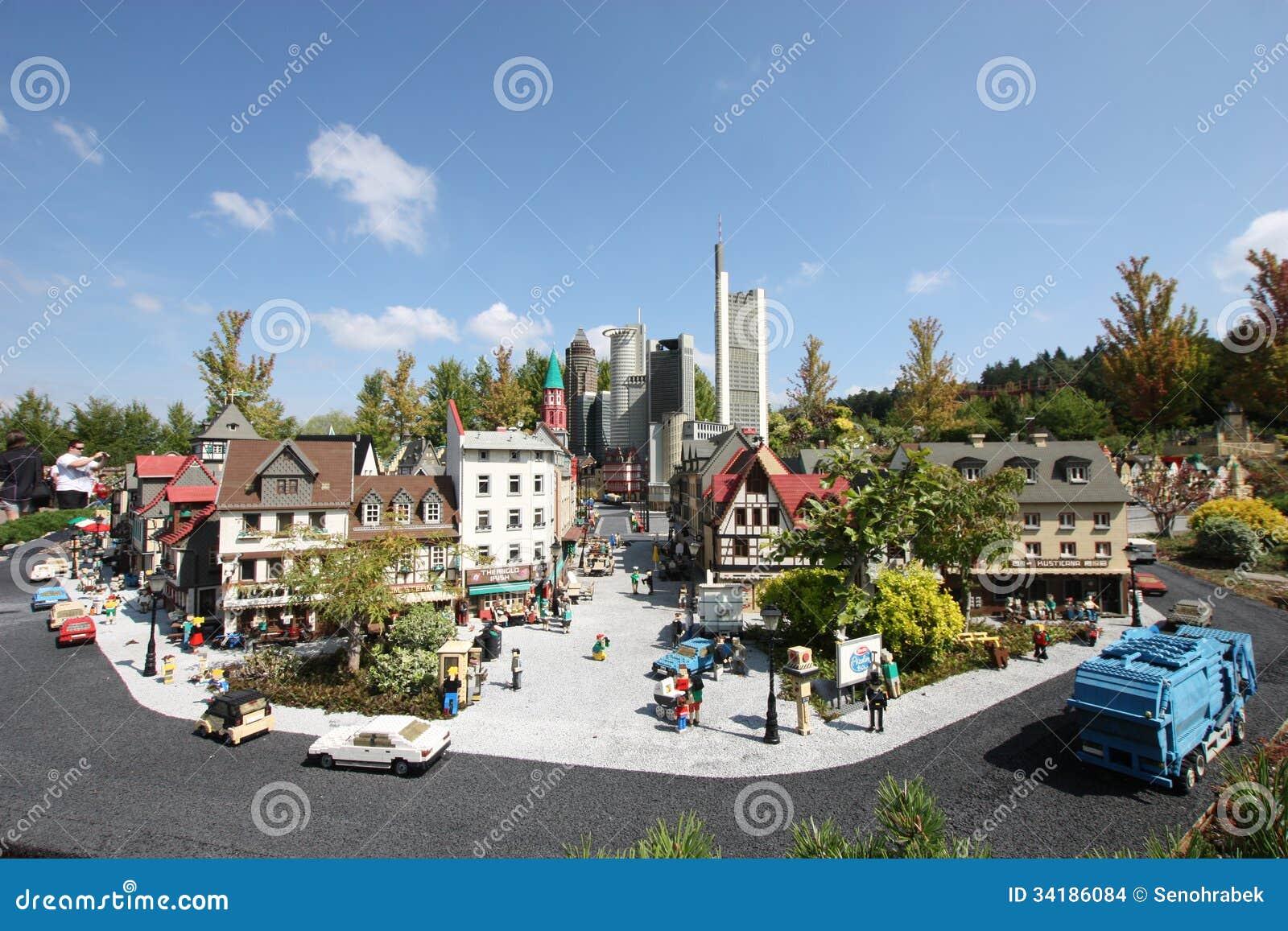 Gunzburg Germany  City pictures : GUNZBURG, GERMANY AUGUST 22: Miniland at Legoland Deutschland Resort ...