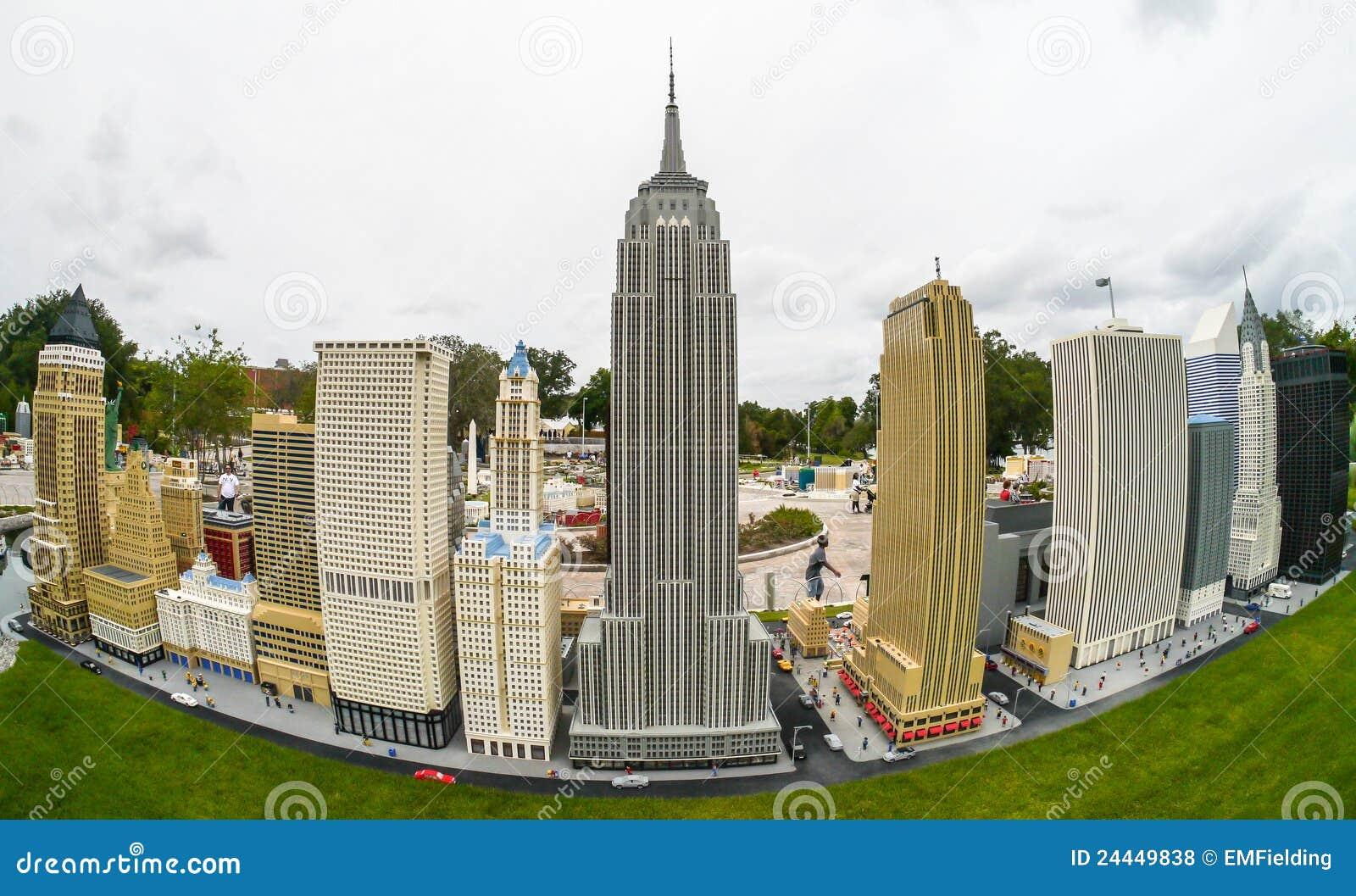 Legoland USA Floryda Miniland - Nowy Jork Linia horyzontu
