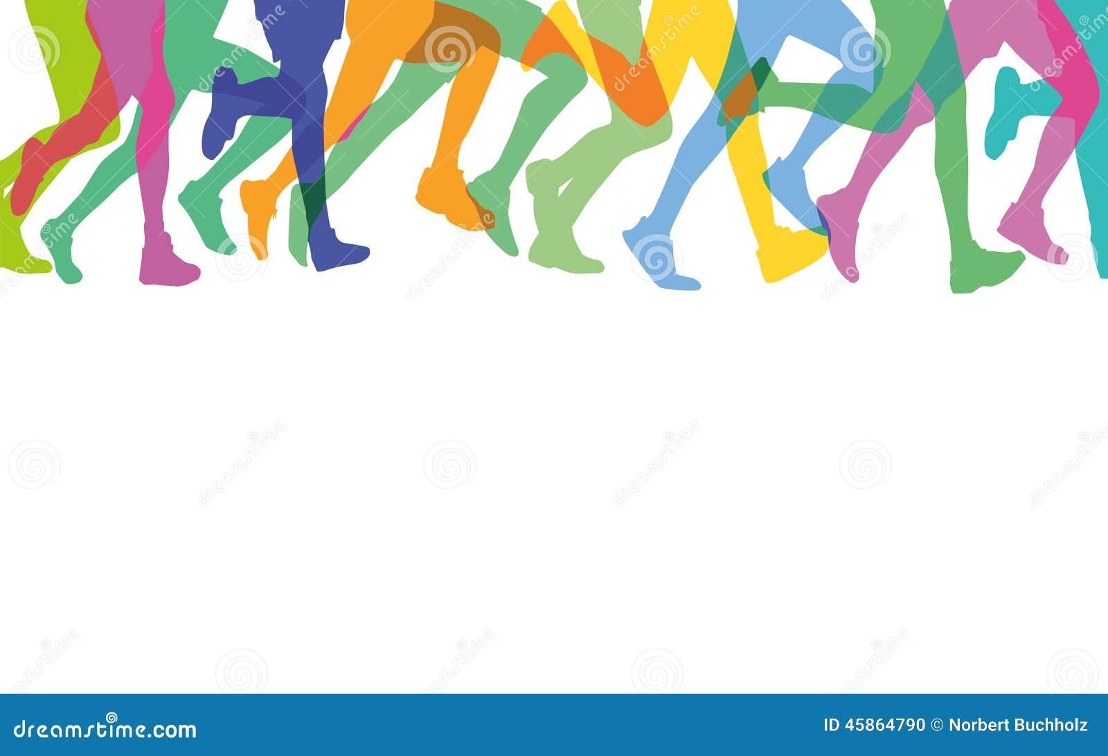 legs of runners stock vector illustration of marathon clip art of running deer clip art of running egg
