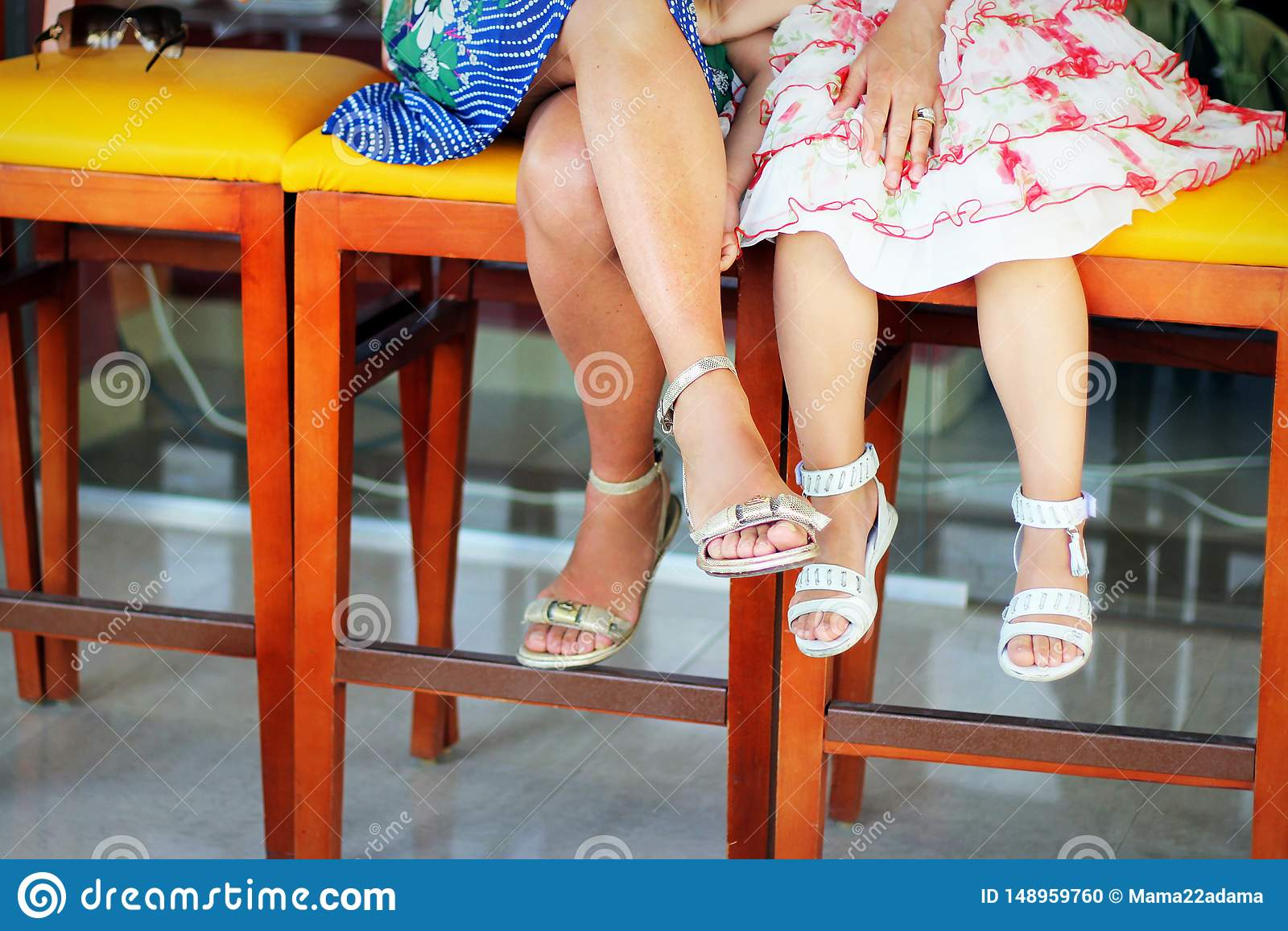 Legs in summer