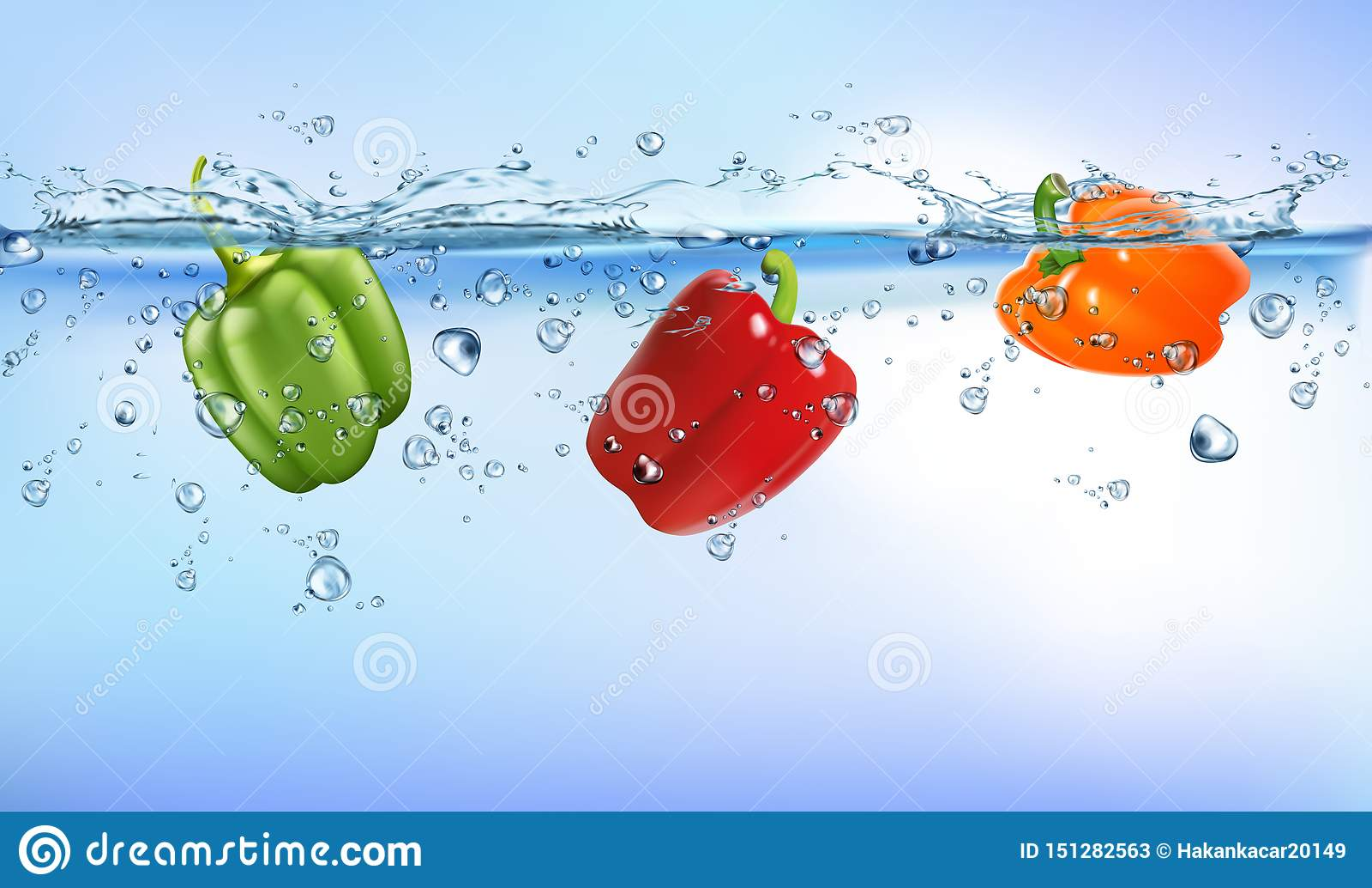 Legumes frescos que espirram no fundo branco isolado do frescor da dieta de alimento do respingo da ?gua conceito saud?vel claro