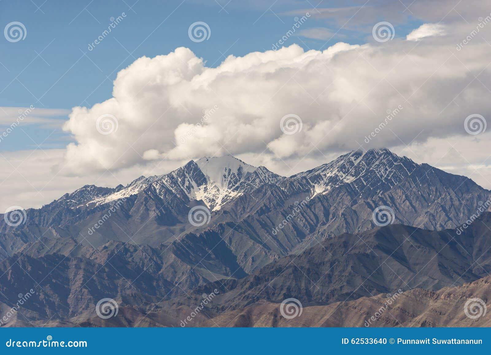 Leh山风景,拉达克