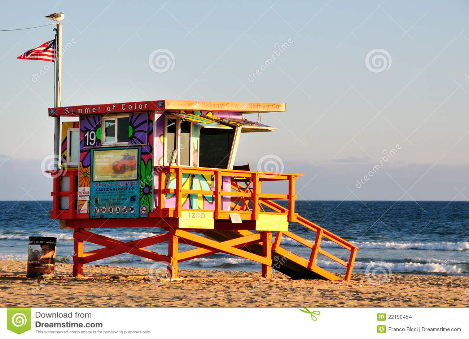 Leibwächter auf Venedig-Strand, Los Angeles