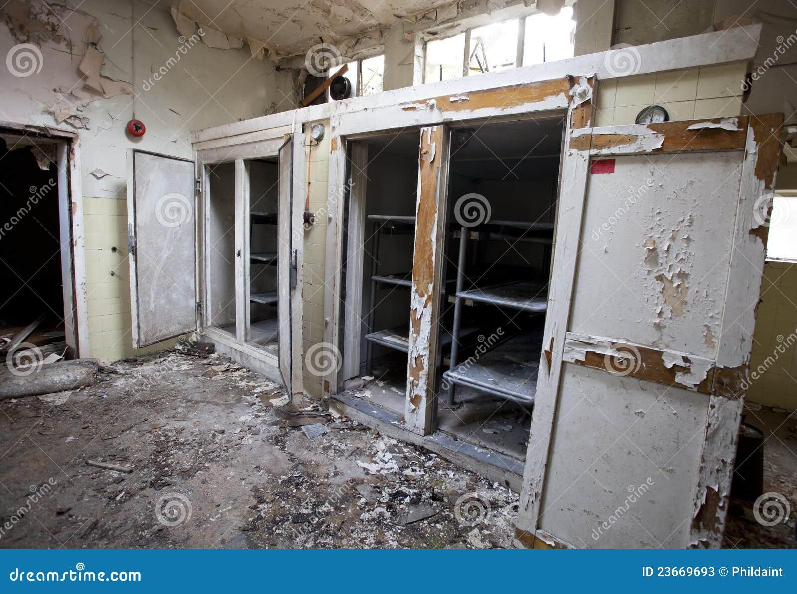 Krankenhaus Leichenhalle