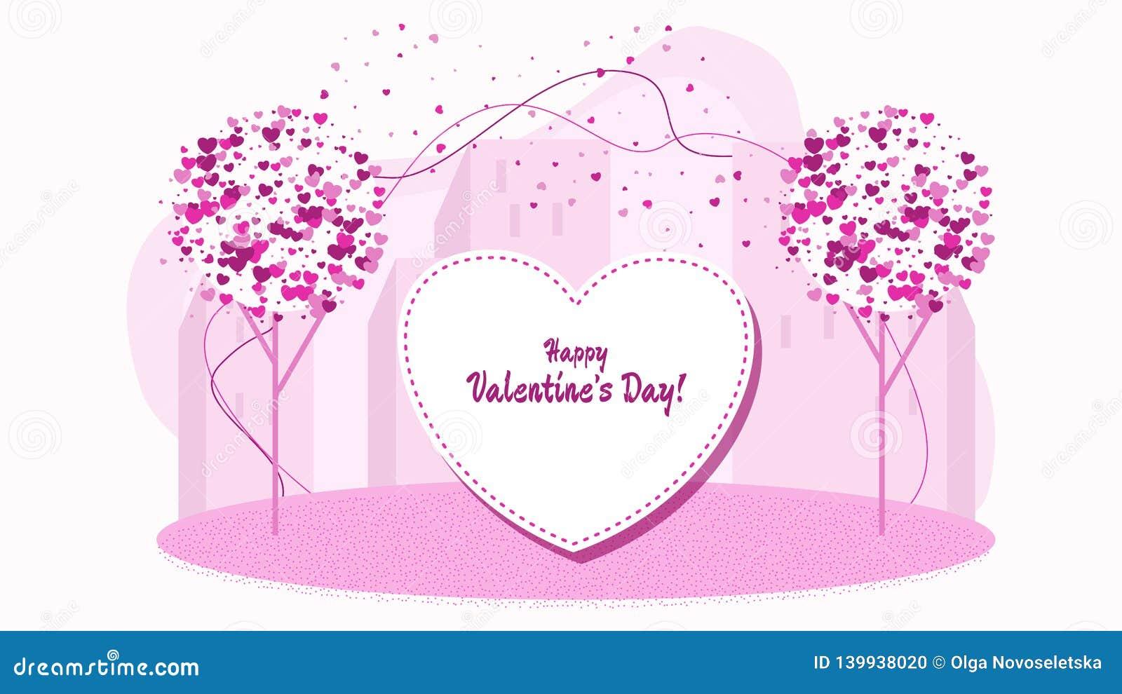 Leichte Wörter, eine Liebeserklärung Charaktere für Valentine Day