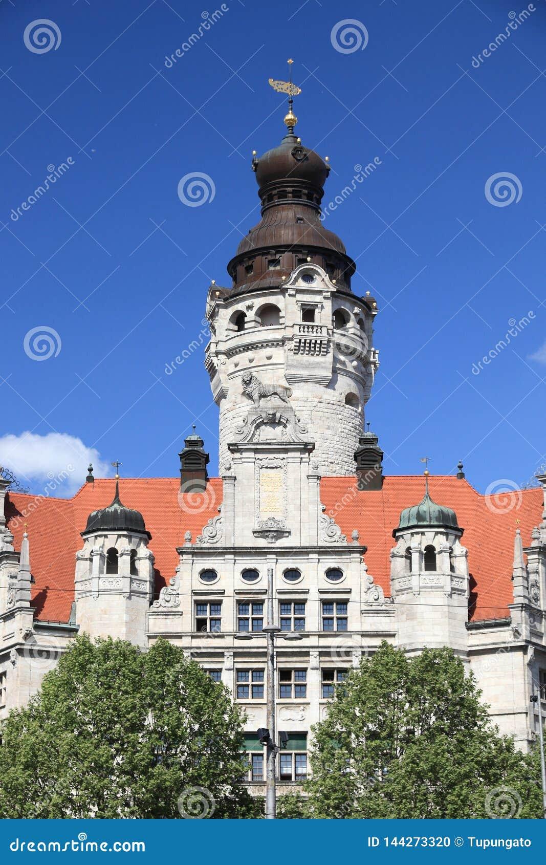 Leipzig gränsmärke, Tyskland