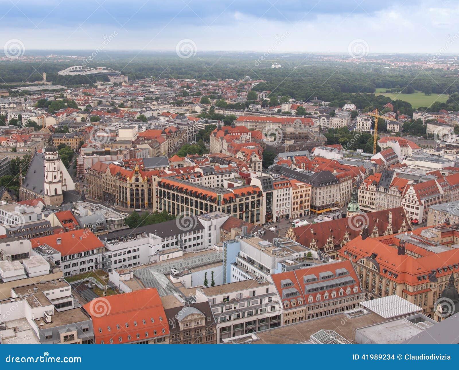 Leipzig-Vogelperspektive