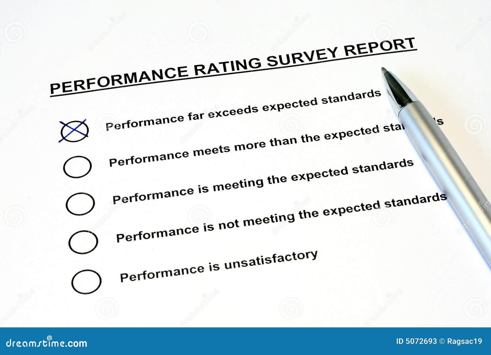 Leistungsbeurteilungs-Übersichts-Report