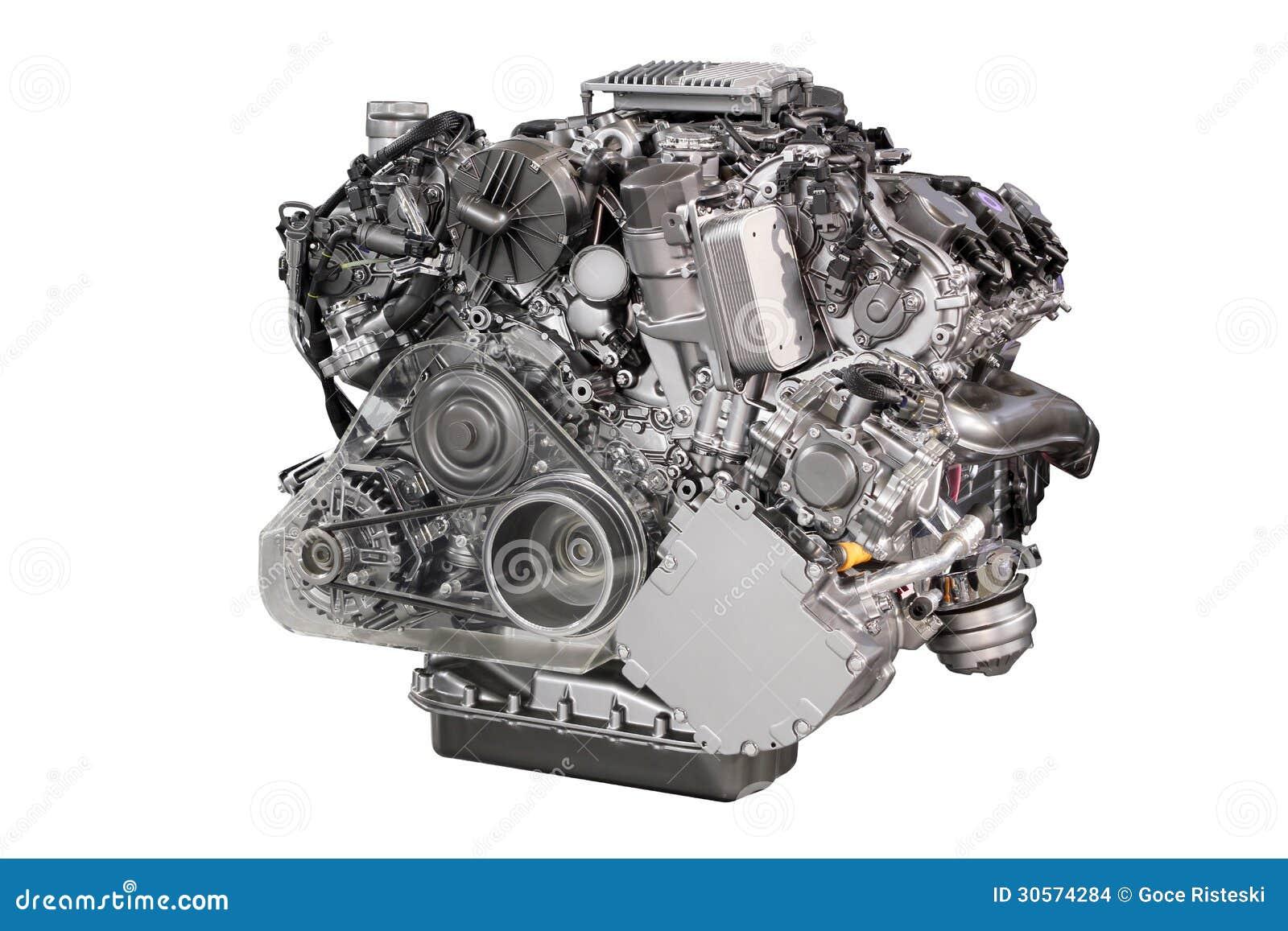 Automotor getrennt stockfoto. Bild von stahl, einheit - 2633668