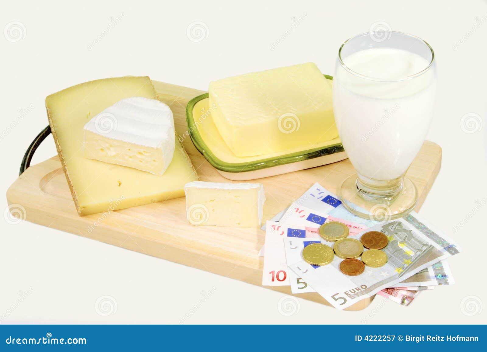 Leite e queijo