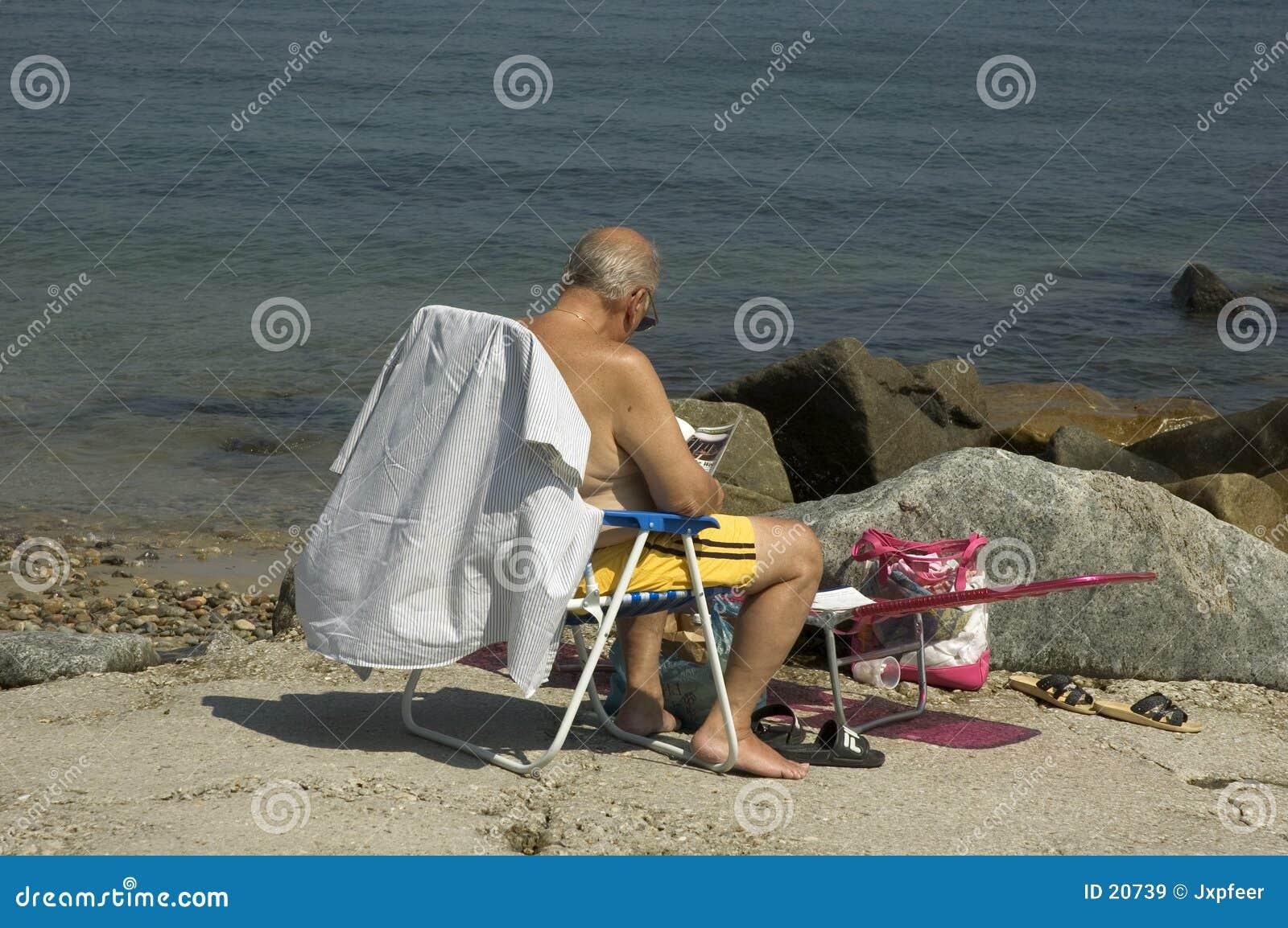 Leitura da praia