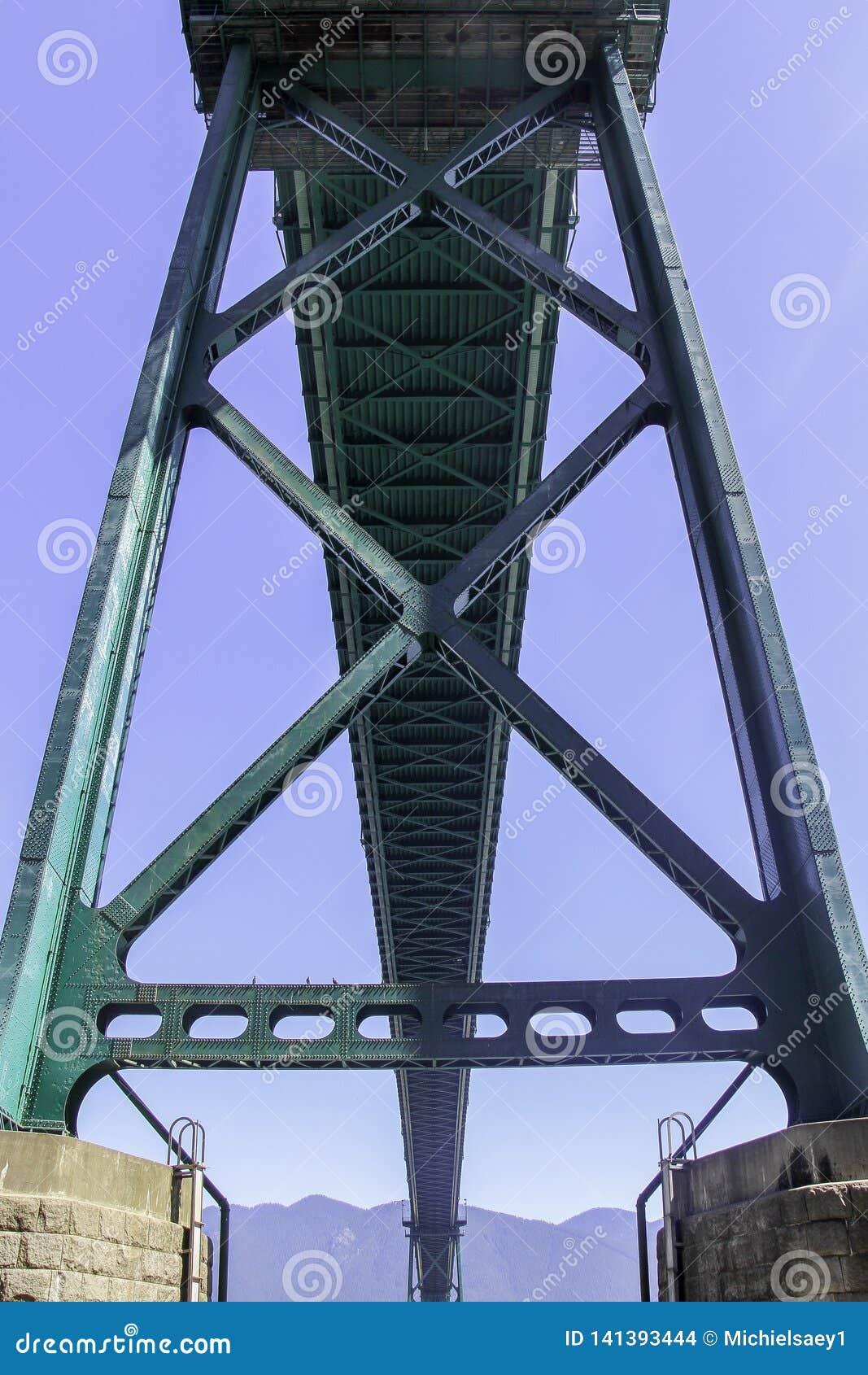 Lejonportbro från knappen Vancouver