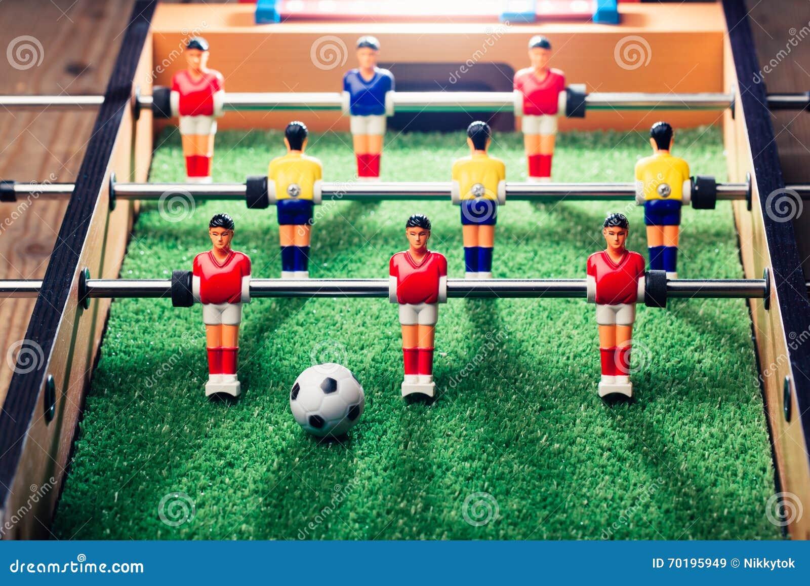 Lek för tabellfotbollfotboll