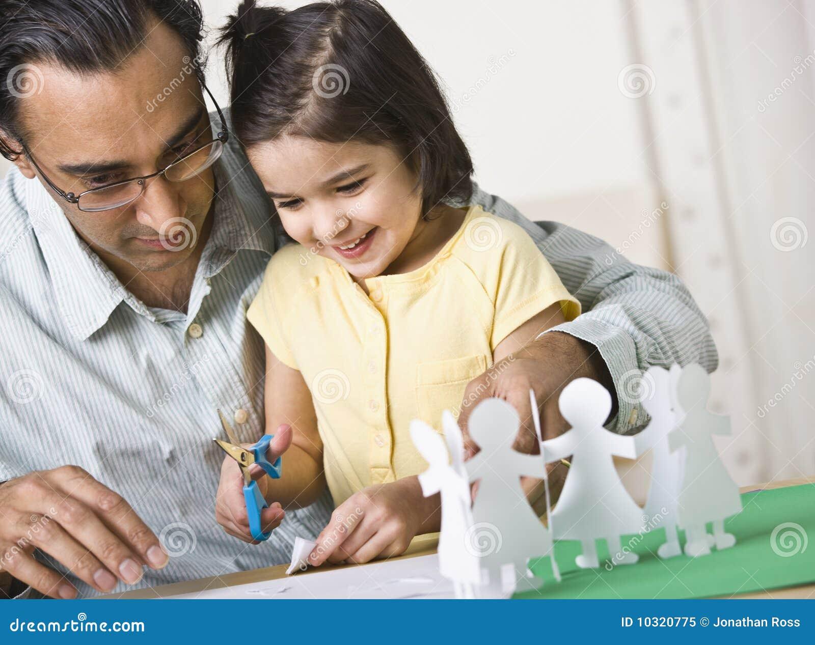 Leka för dotterfader