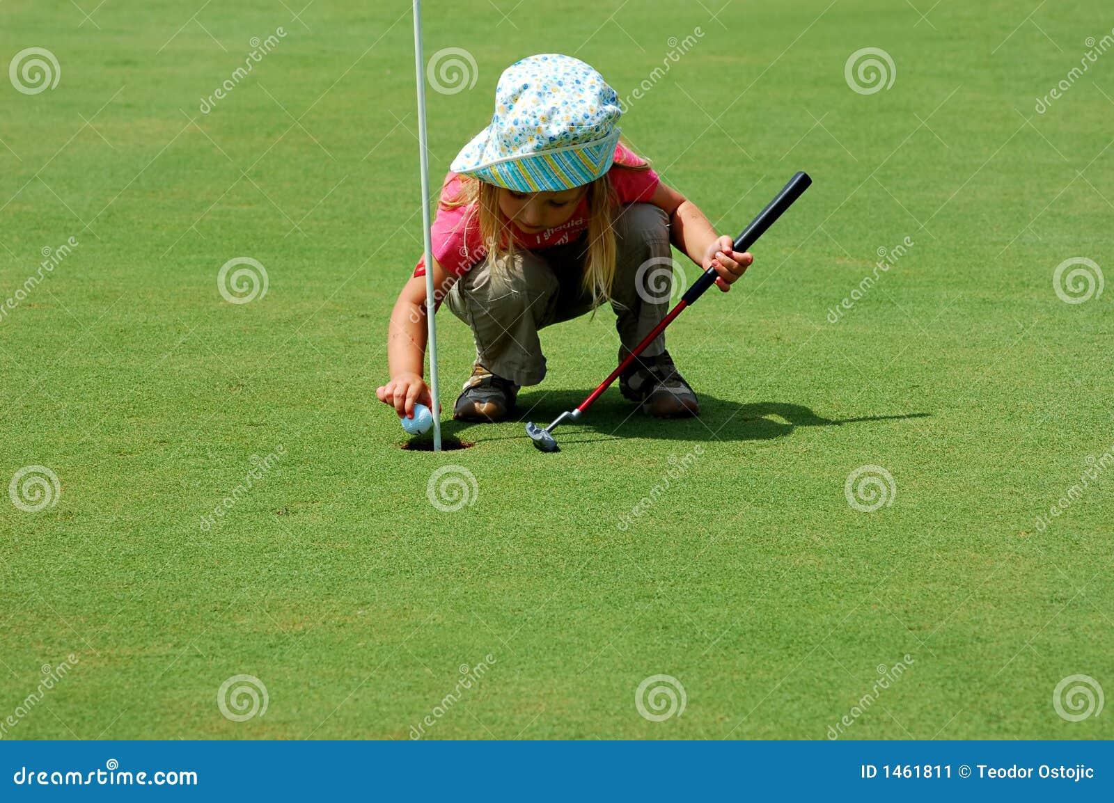 Leka för golf