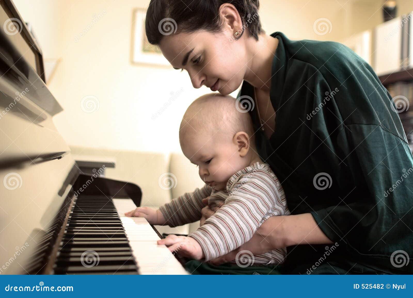 Leka för piano