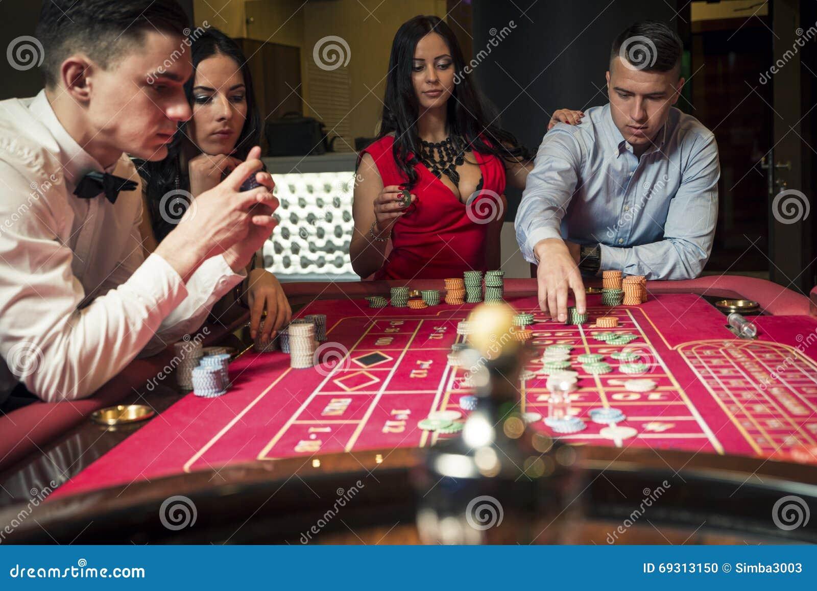 Leka roulett för grupp