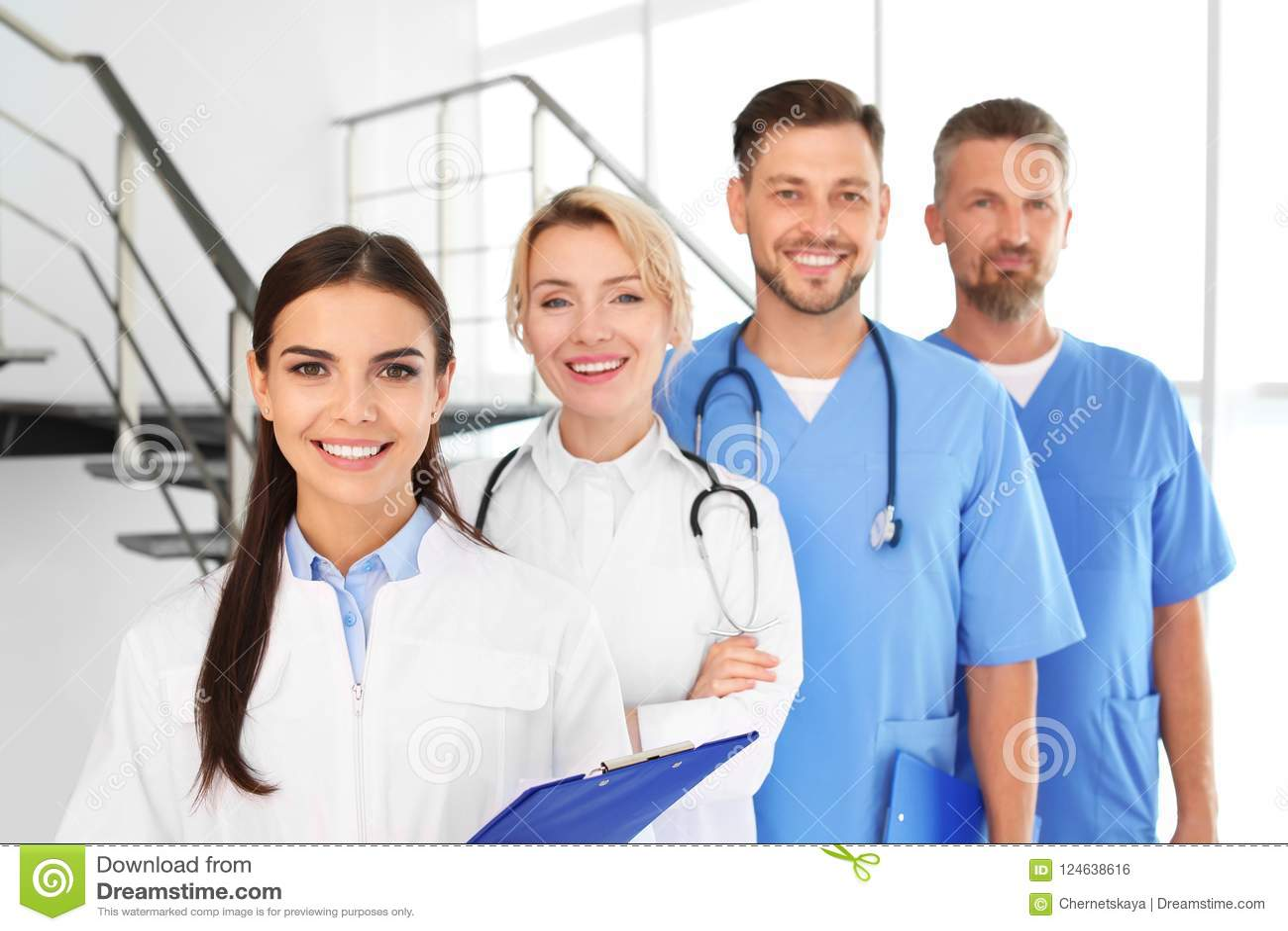 Lekarki i medyczni asystenci w klinice