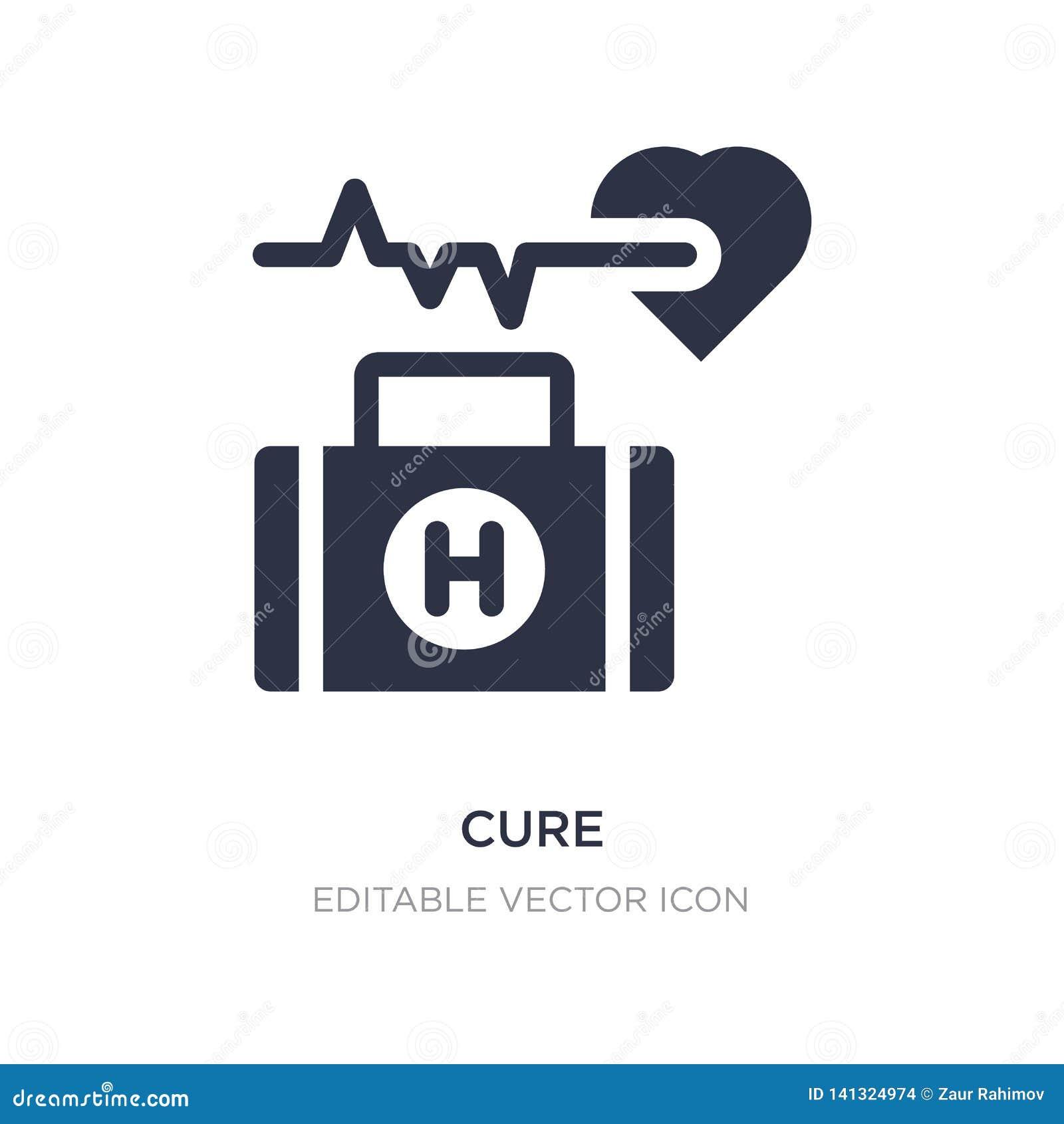 Lekarstwo ikona na białym tle Prosta element ilustracja od Medycznego pojęcia