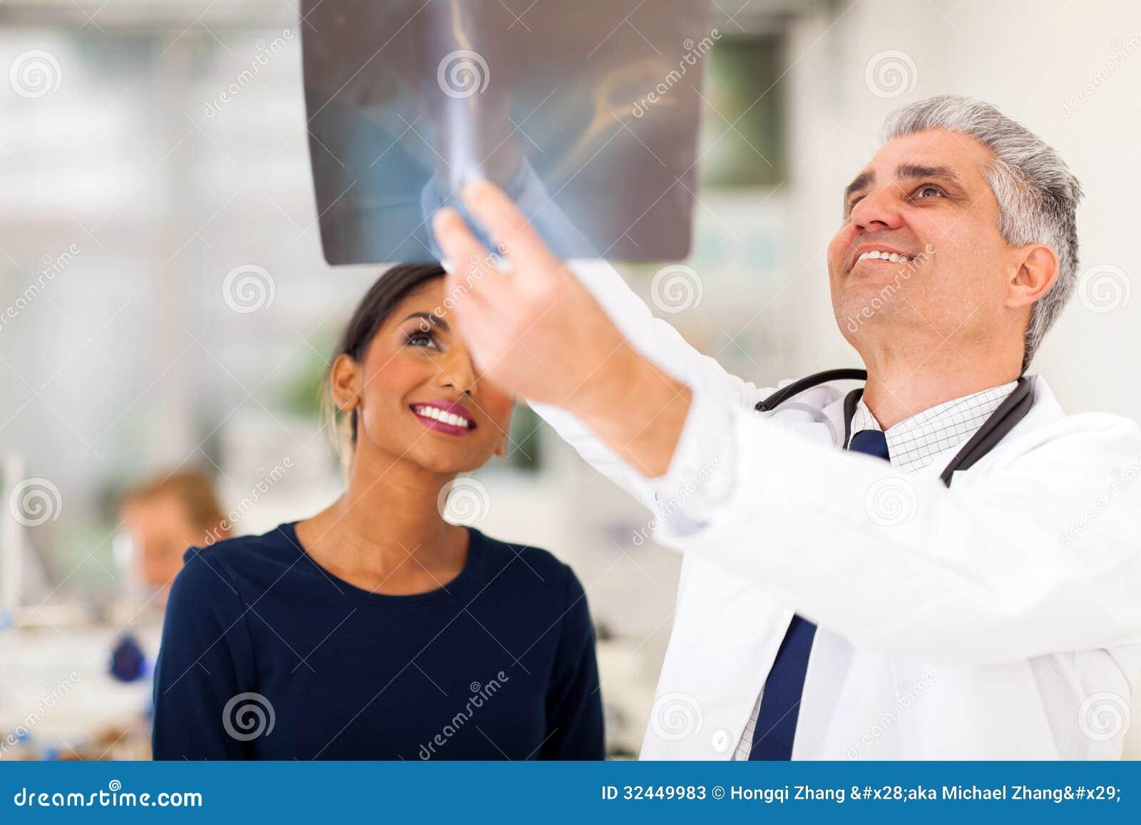 Lekarza medycyny pacjent