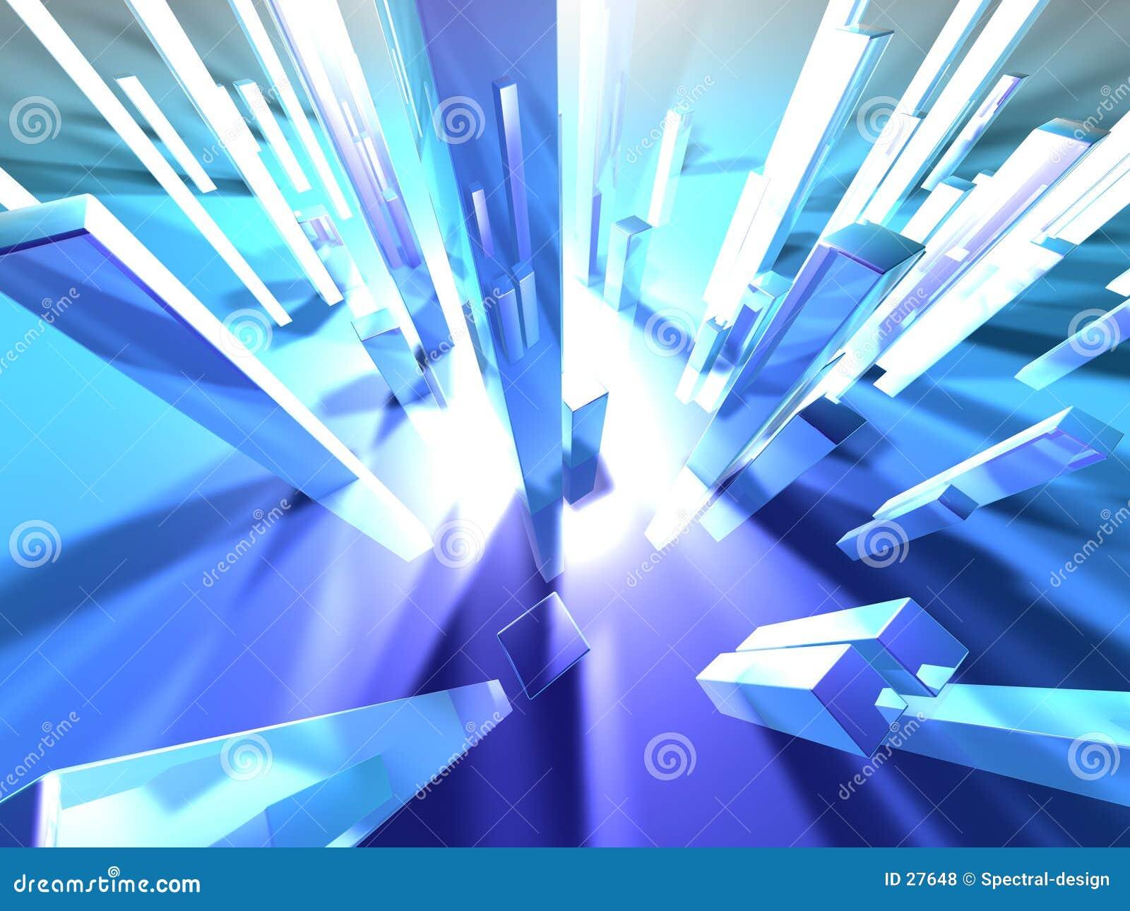 Download Lekki 2 wieże ilustracji. Ilustracja złożonej z perspektywa - 27648