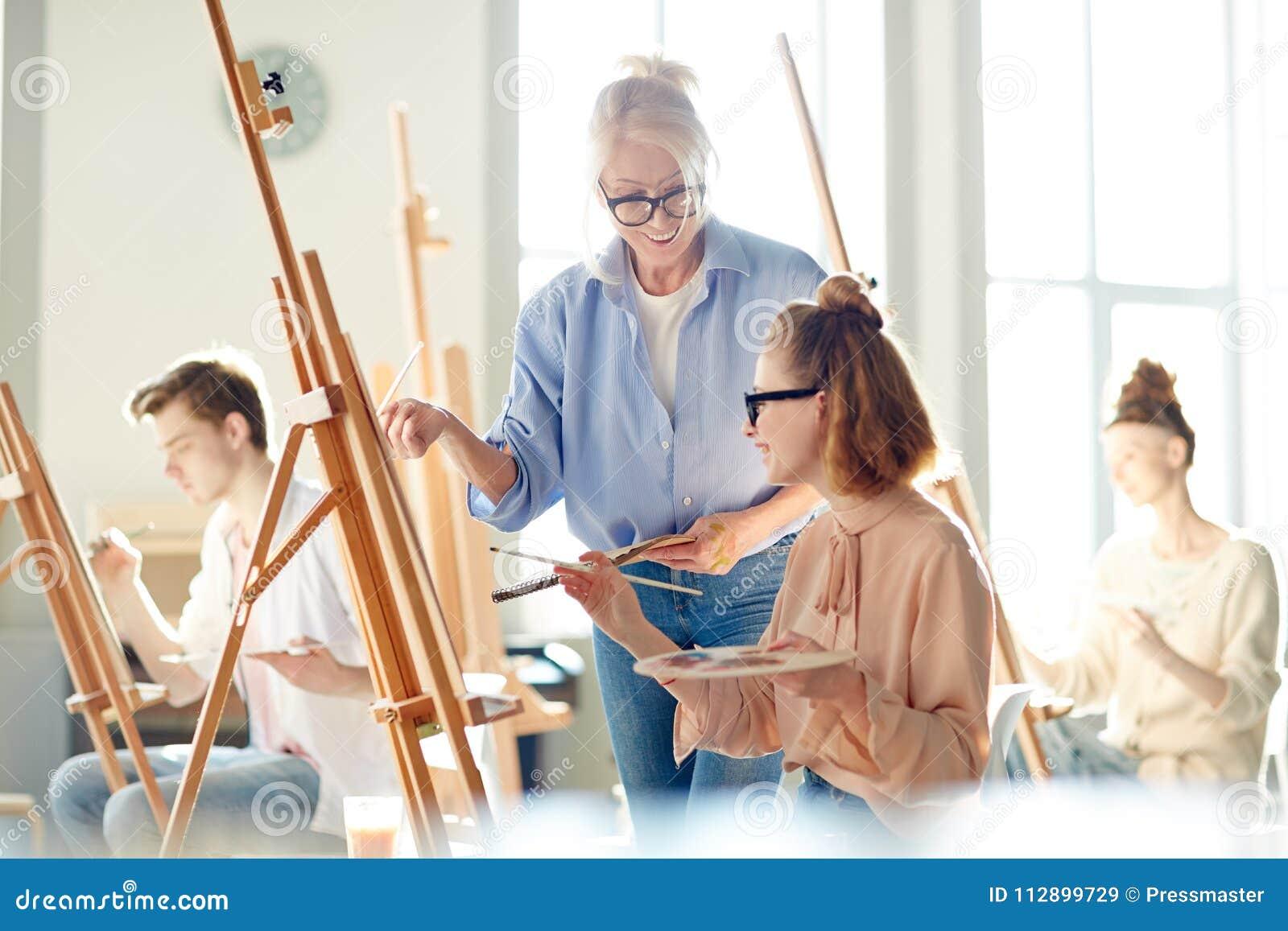 Lektion der Malerei