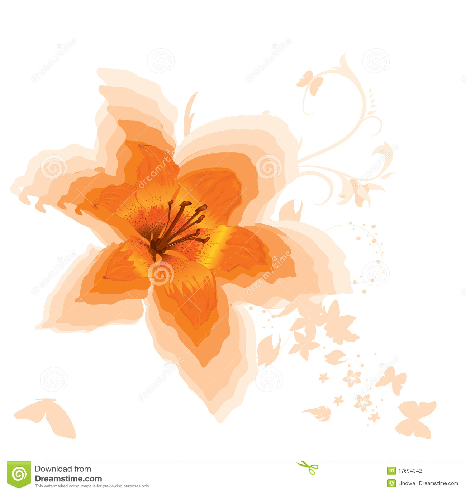 Lelui piękna pomarańcze