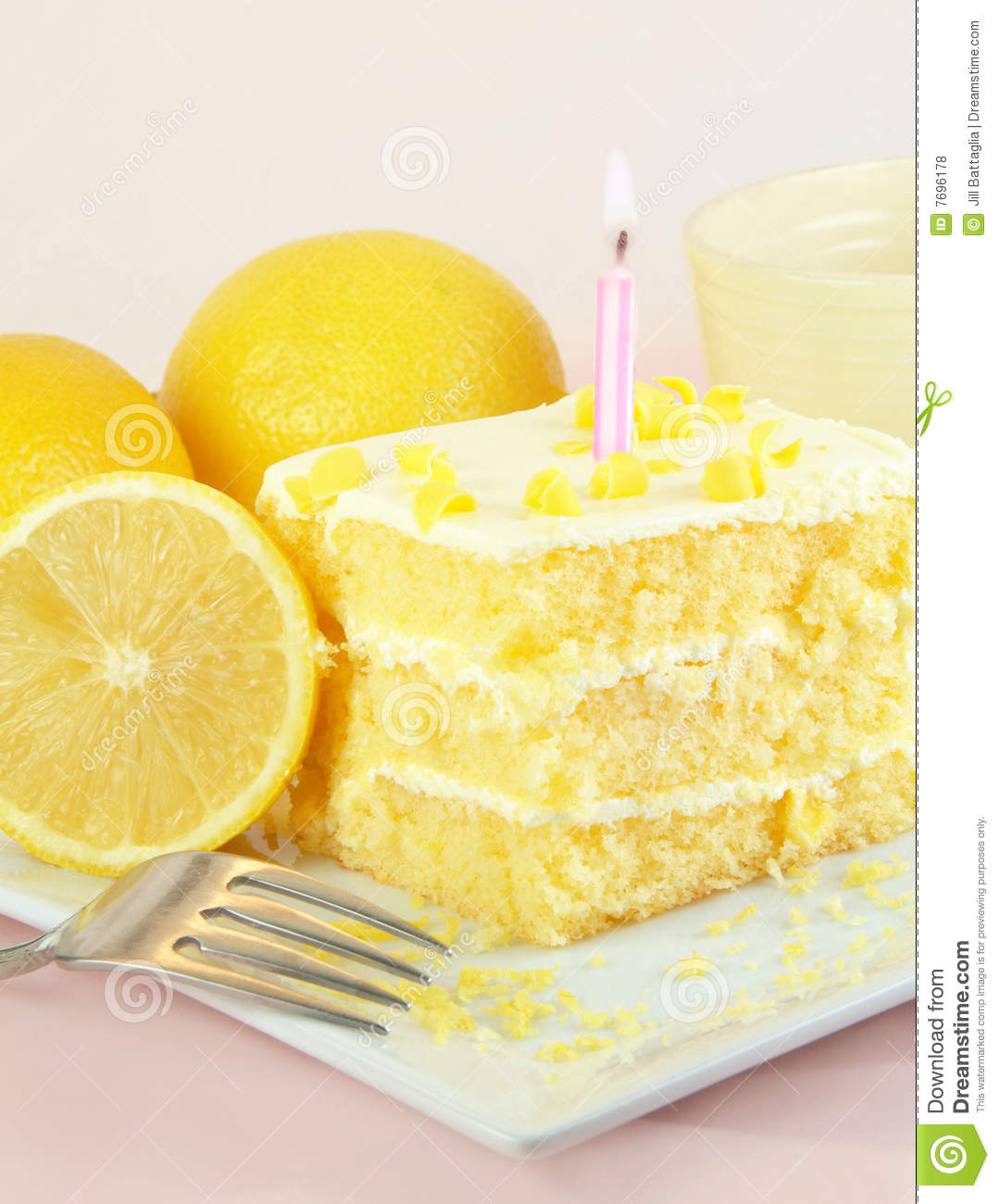 Lemon Fork Cake