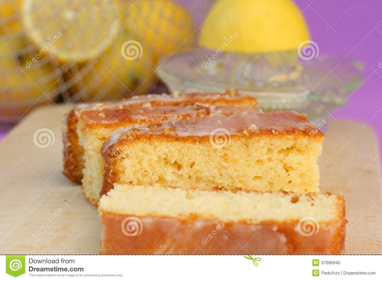 Lemon Pound Cake Using Lemon Curd