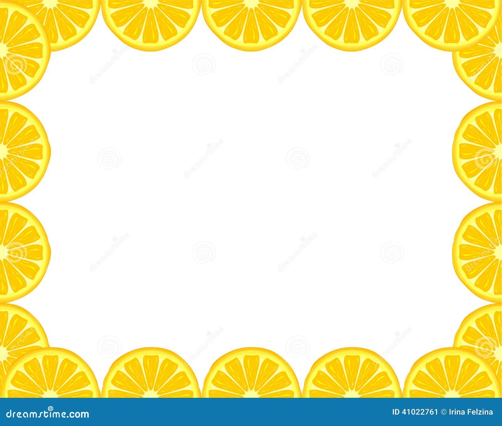 lemon frame stock vector image 41022761 lemon clipart png lemon clip art free