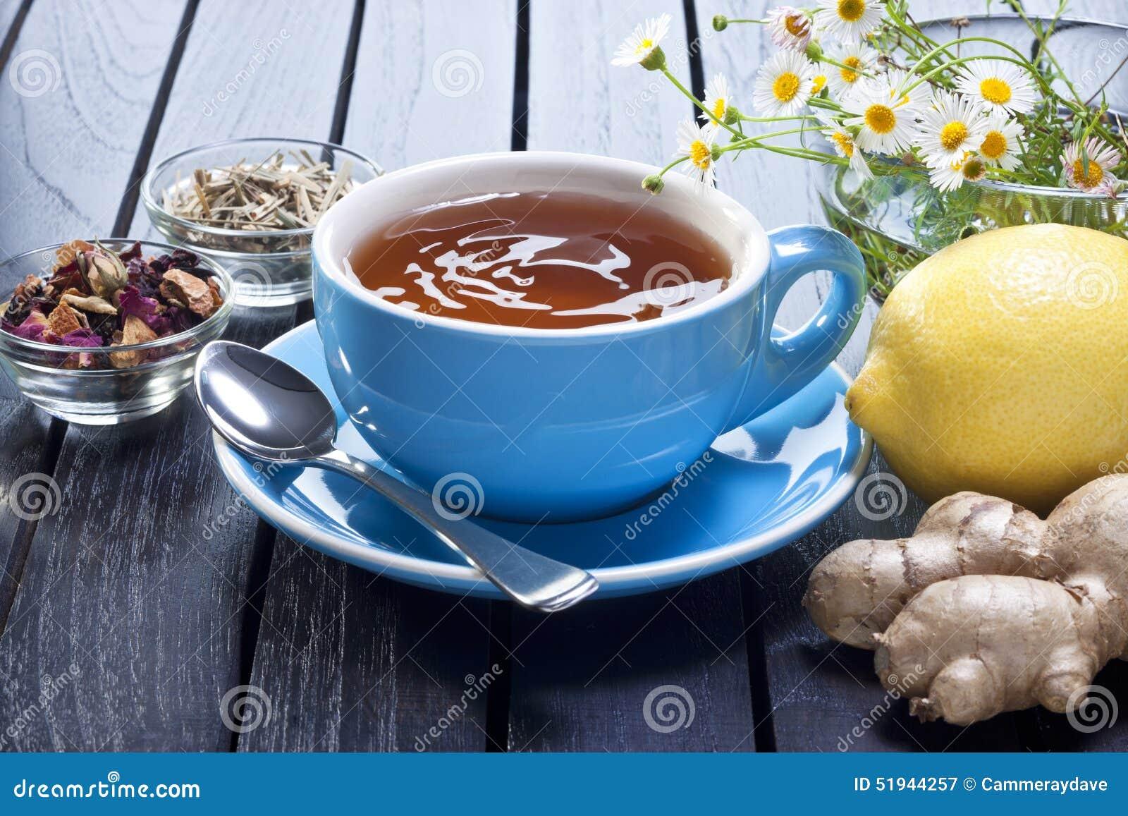 Lemon Detox Ginger Tea Cup