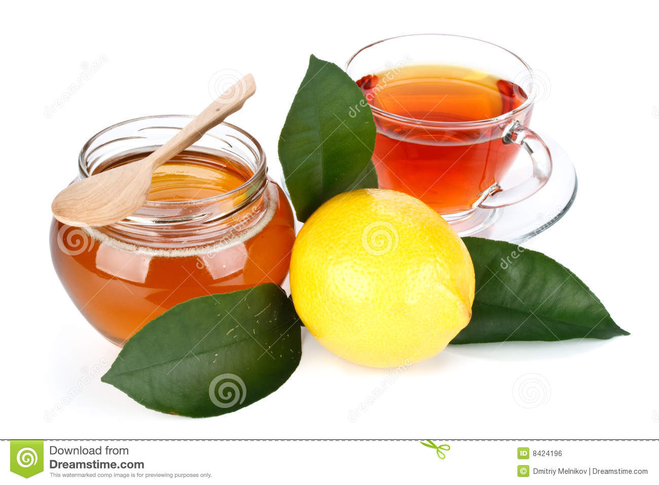 how to make honey and lemon green tea