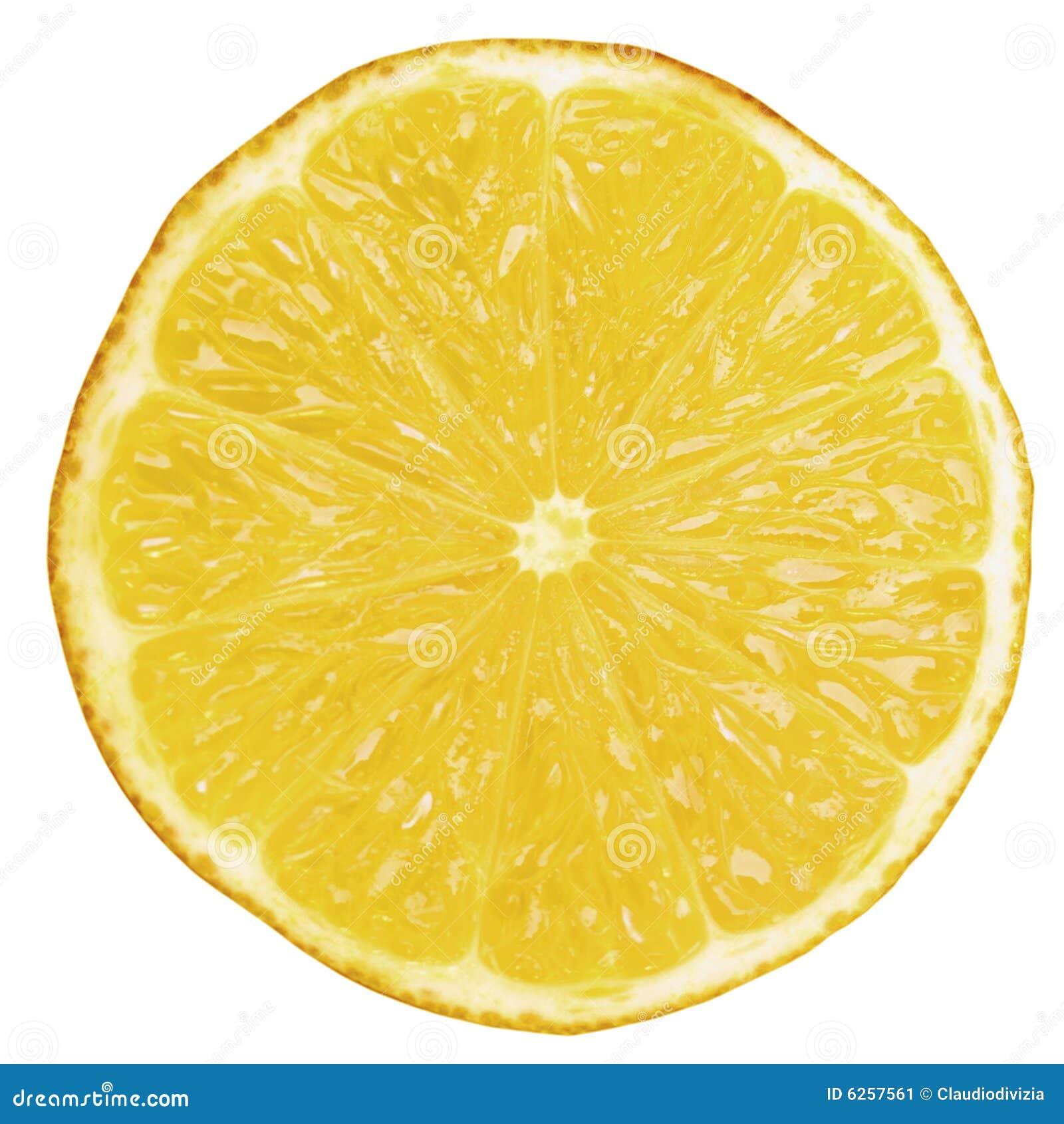 Lemon slice stock image image 6257561