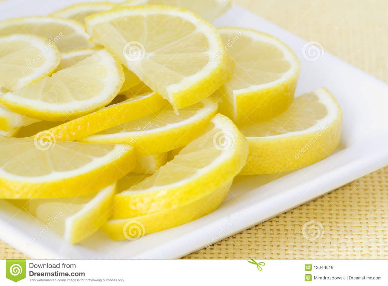 Lemon Slices Royalty Free Stock Image - Image: 12044616