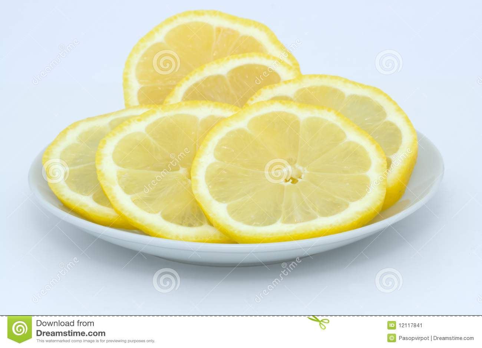 lemon slices stock image image of vitamin whole freshness 12117841