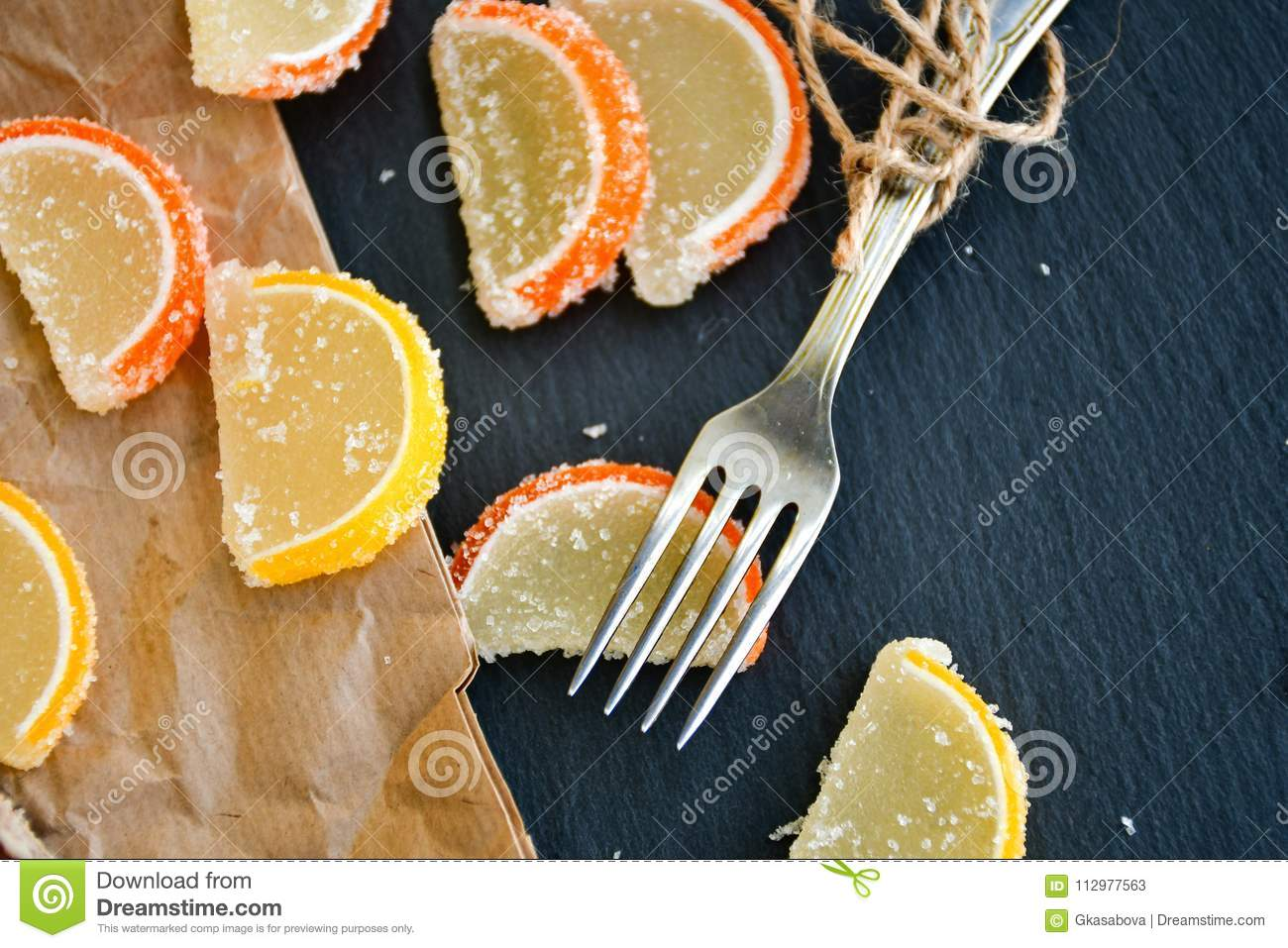 Lemon slices