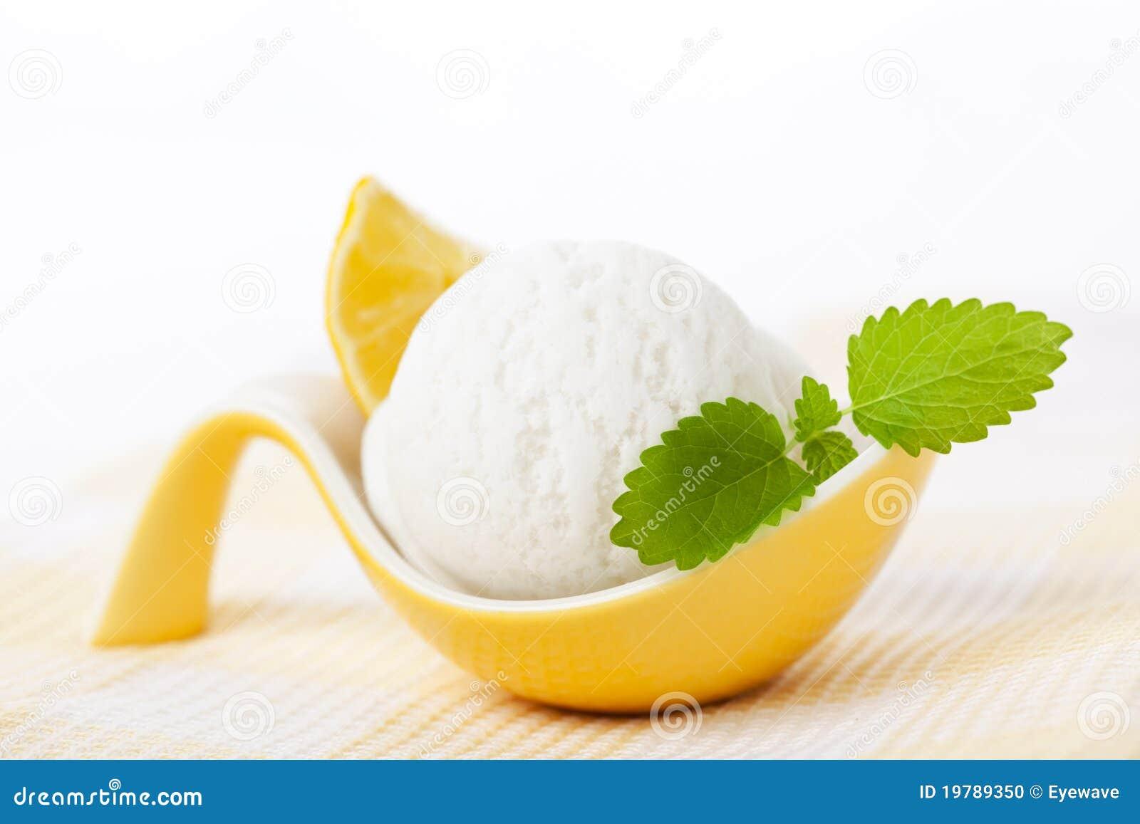 Lemon Sorbet Stock Photo - Image: 19789350