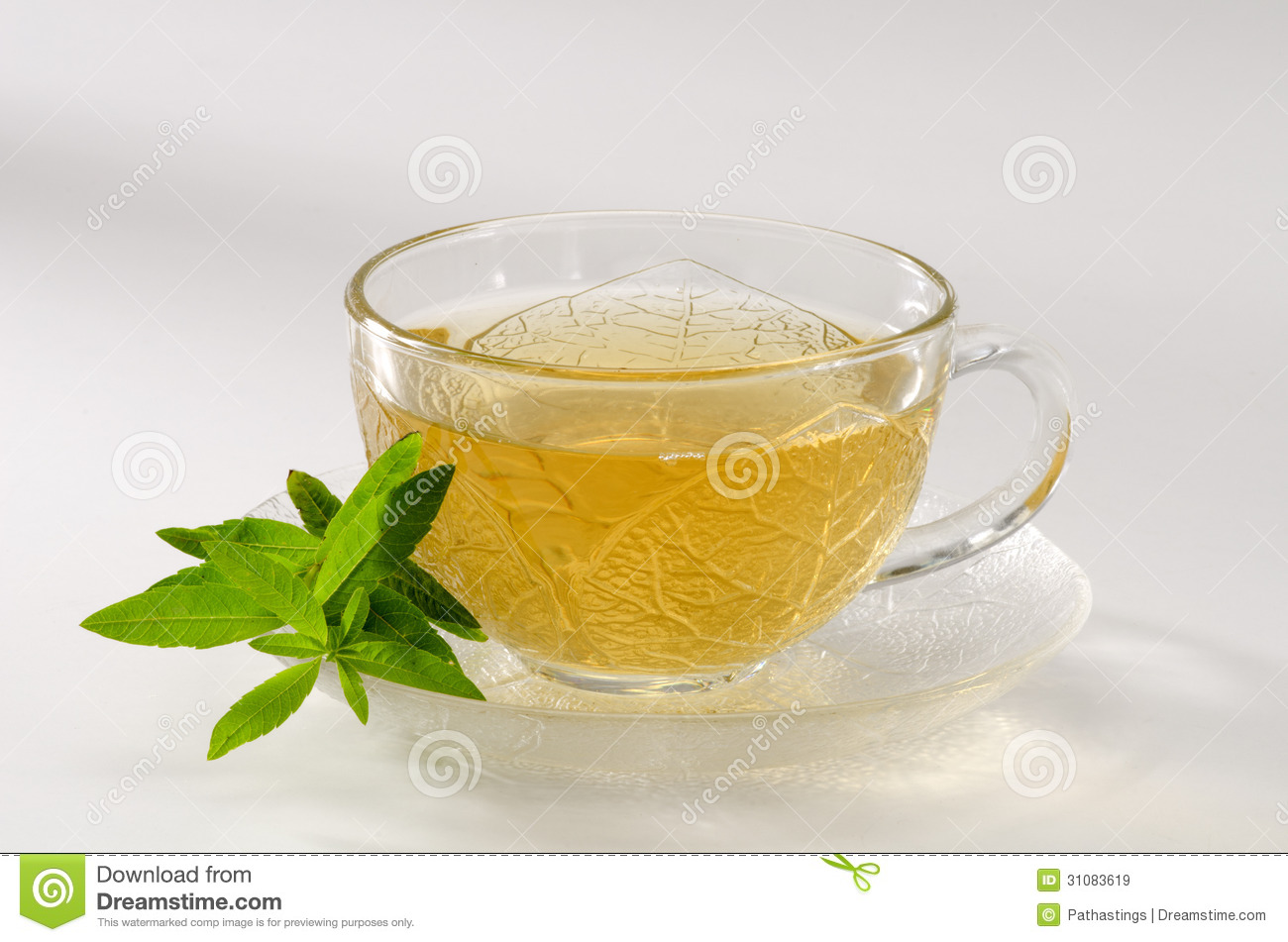Lemon Verbena Mint Herb Tea Recipe — Dishmaps