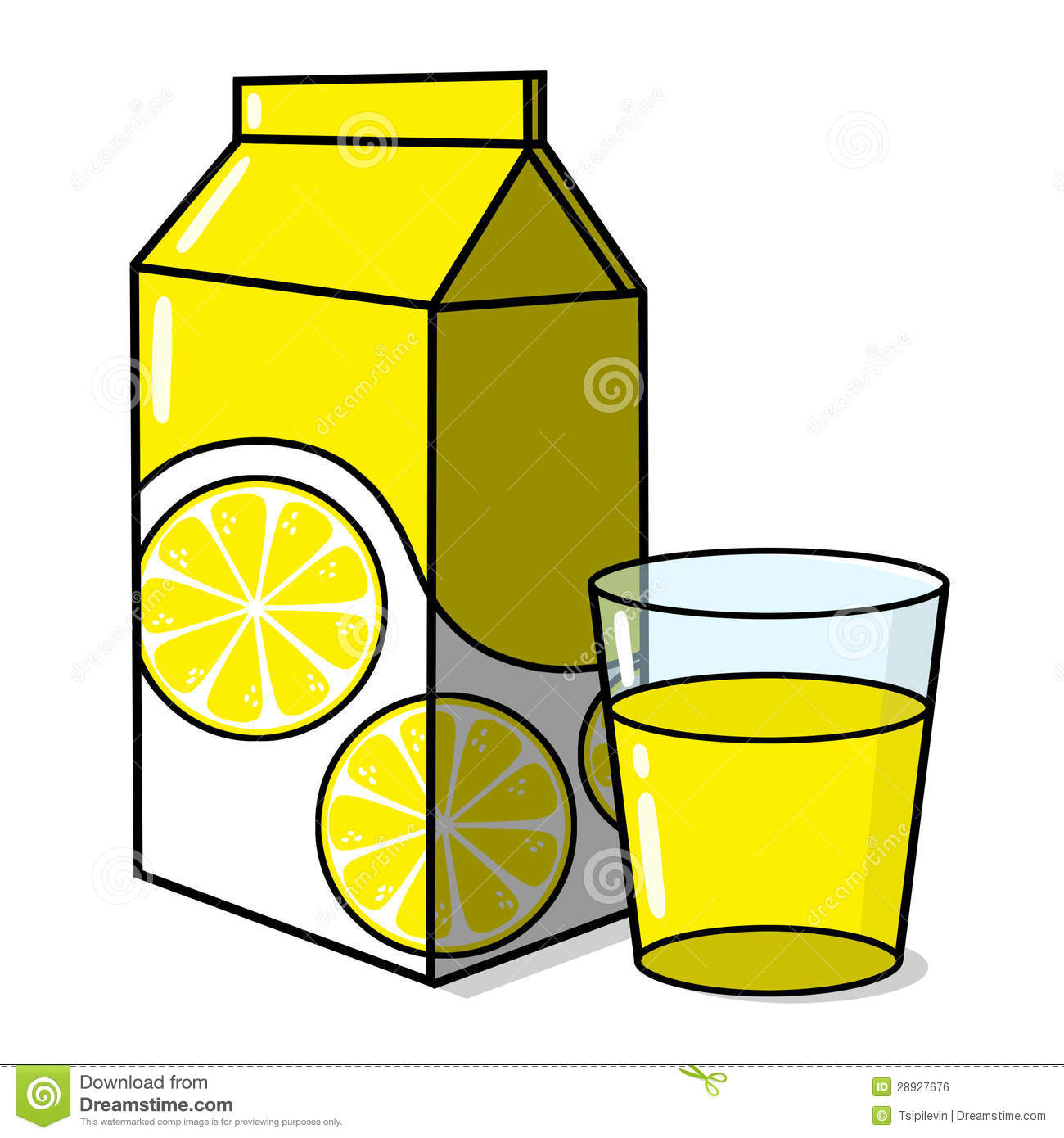 Lemonade And A Glass Royalty Free Stock Image - Image: 28927676