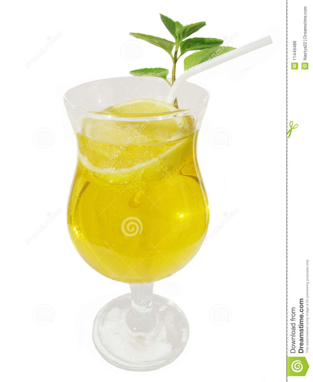 Similar stock images of lemonade in a glass with a lemon slice