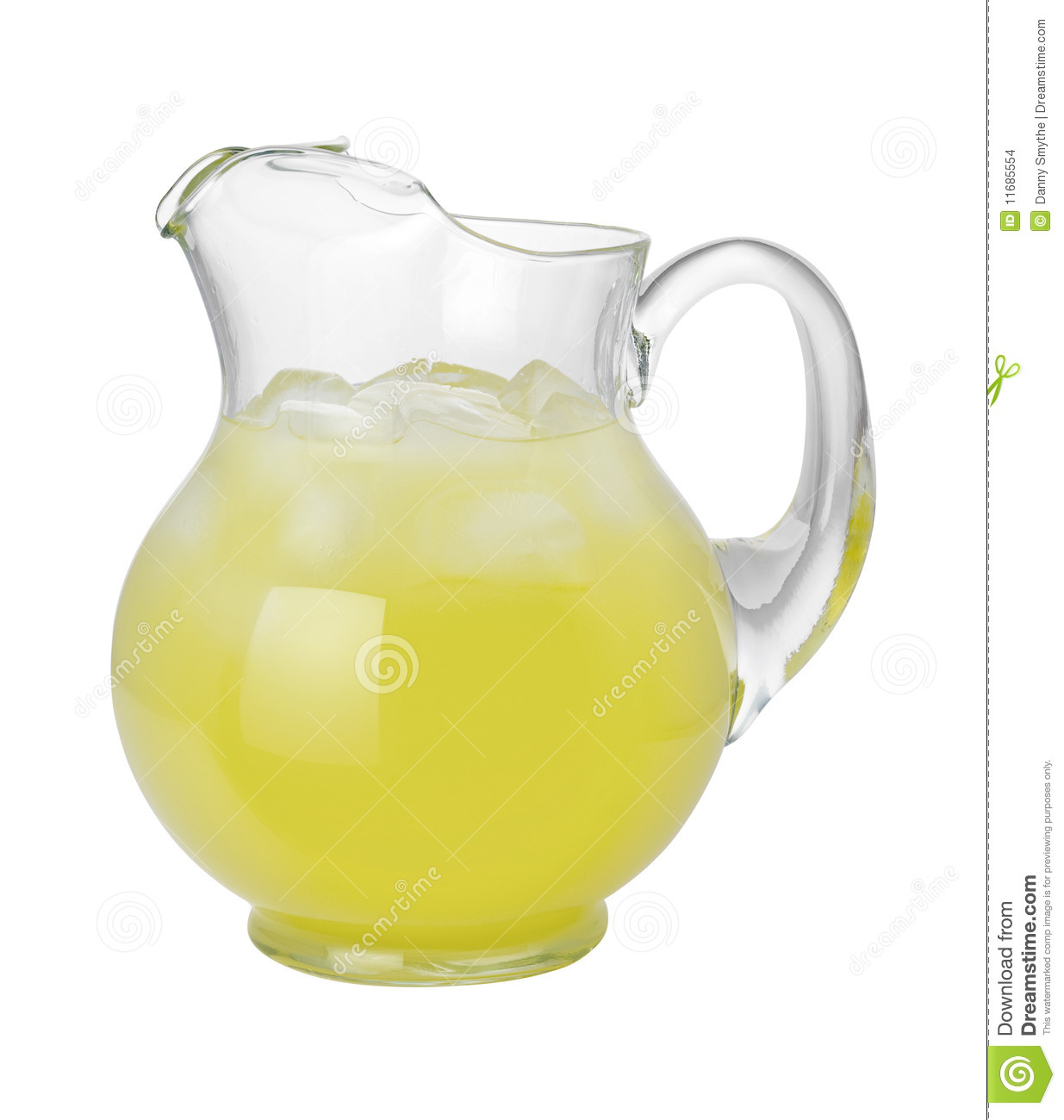 lemonade pitcher with clipping path stock photo image of drink