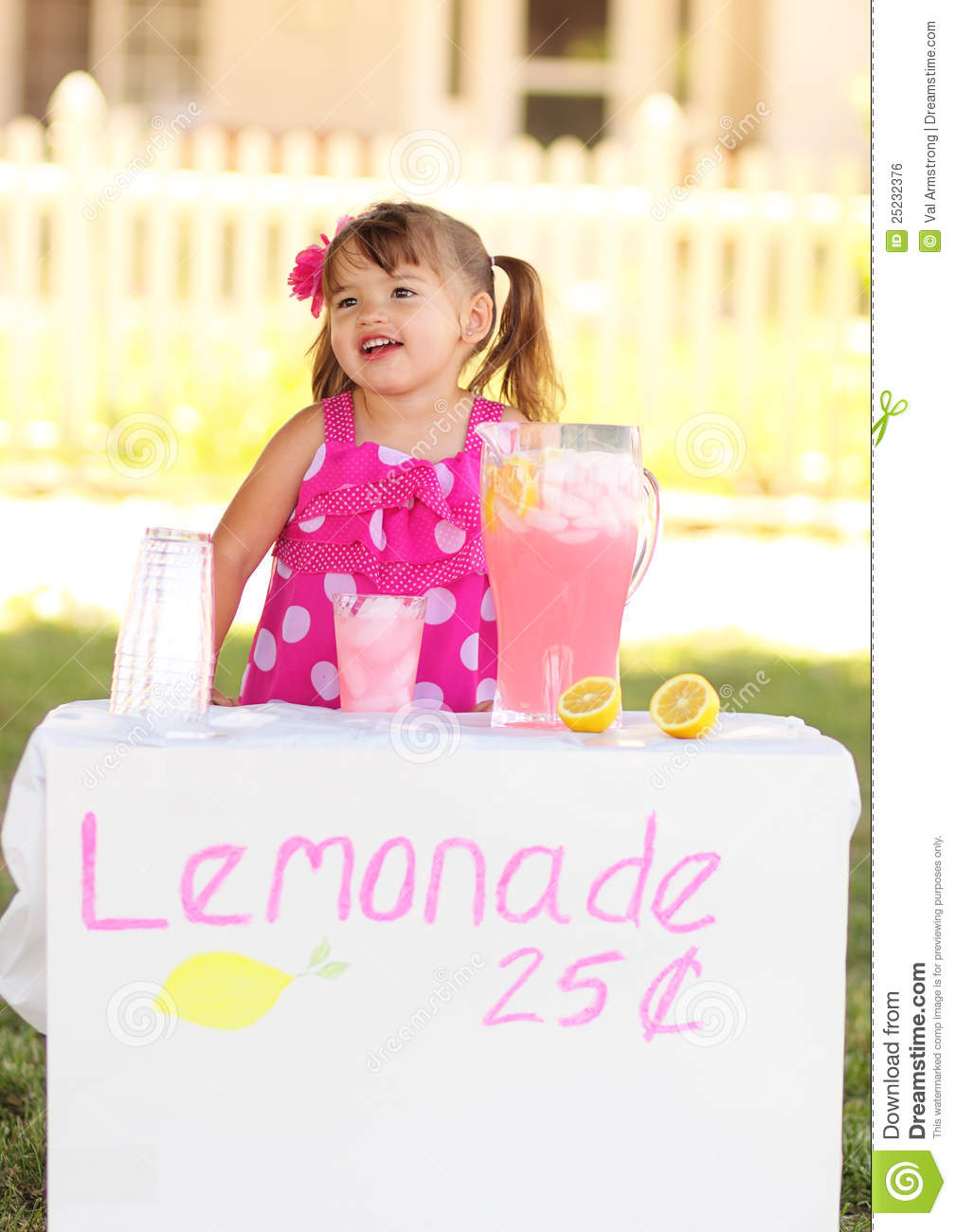 Lemonade Stand Open for Business
