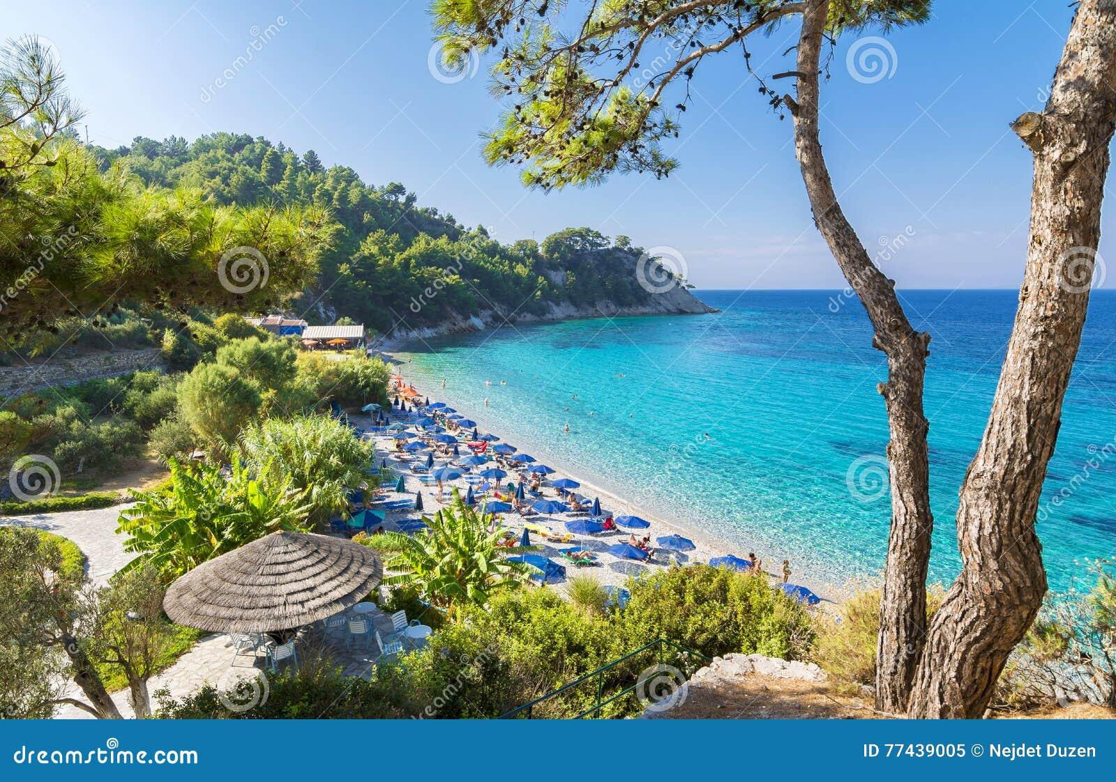 Lemonakia-Strand auf Samos-Insel