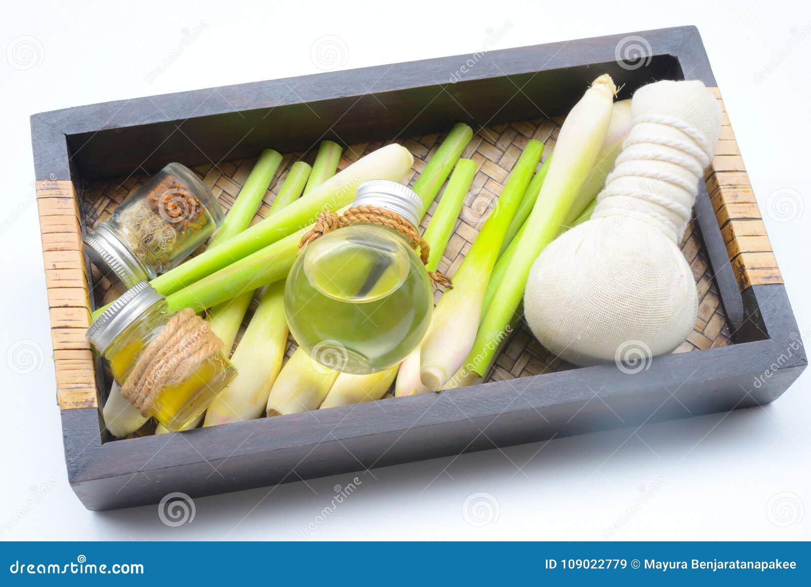 Lemongrass ουσιαστικό πετρέλαιο με Aromatherapy